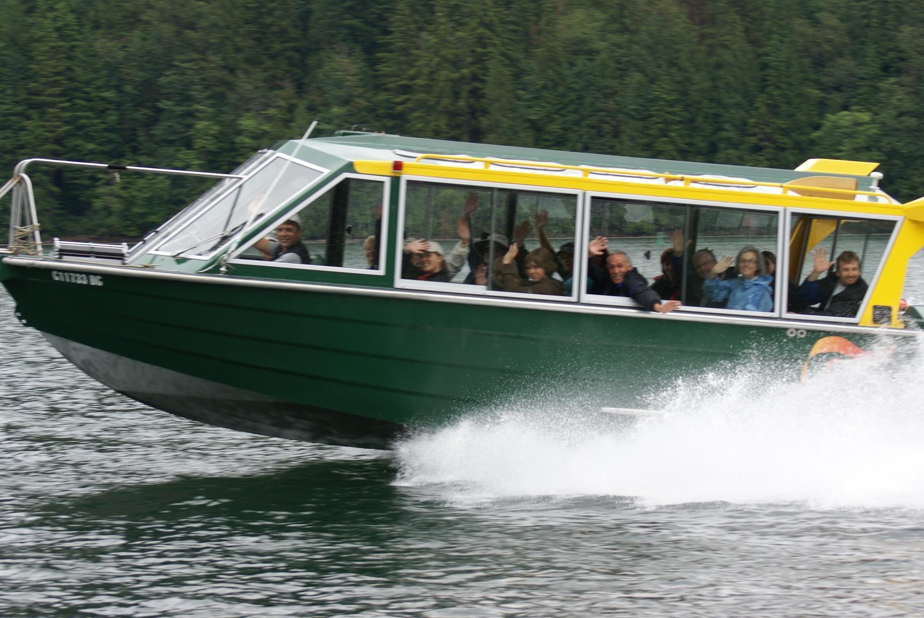 Fraser River Custom Boat Tour in Mission