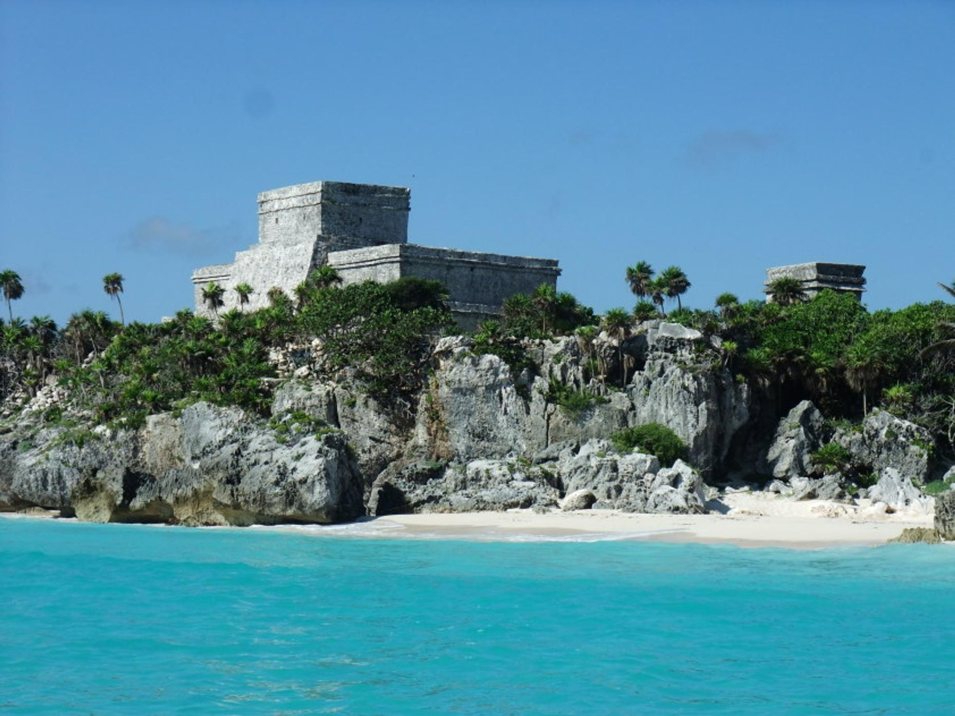 Guided Tour of Tulum's & Coba's Ancient Ruins in Cancun