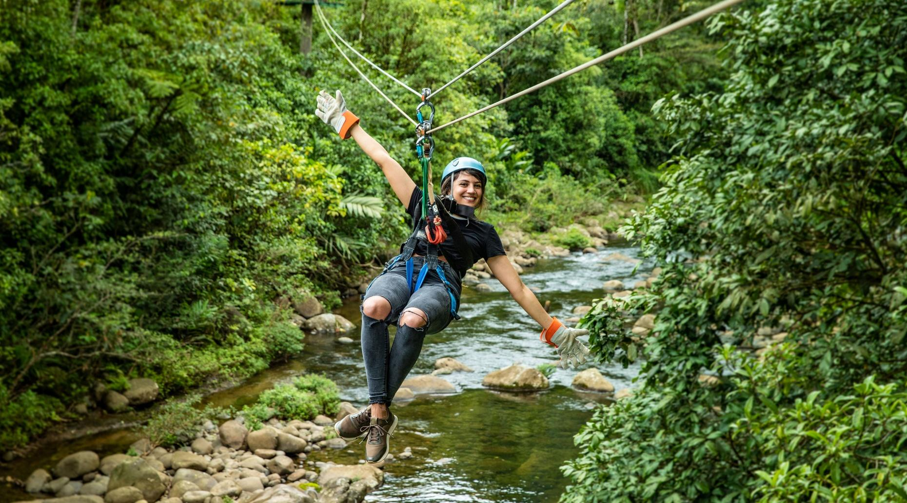 Costa Rica Canopy Zipline Aventure