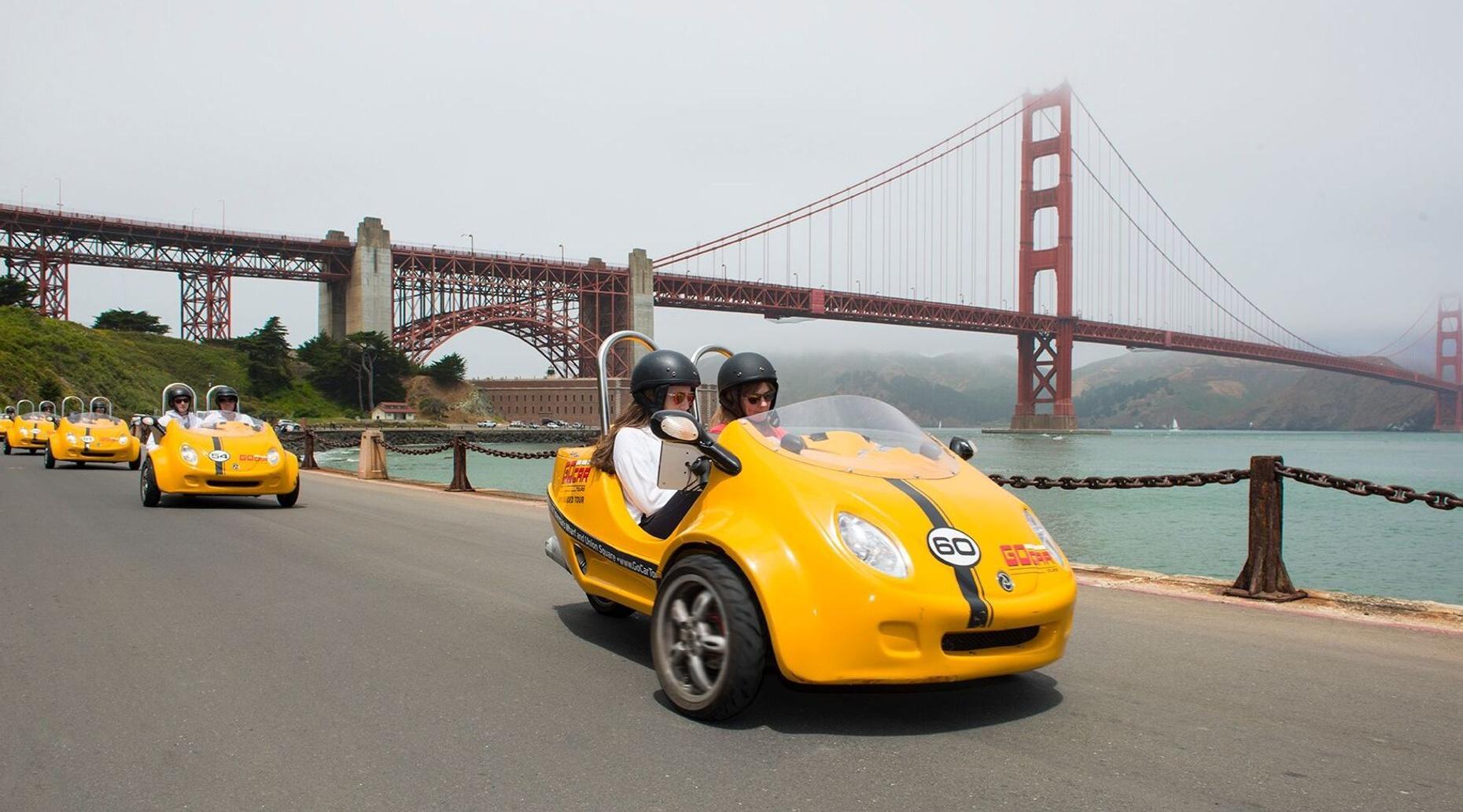 3-Hour Golden Gate Park & More GoCar Tour