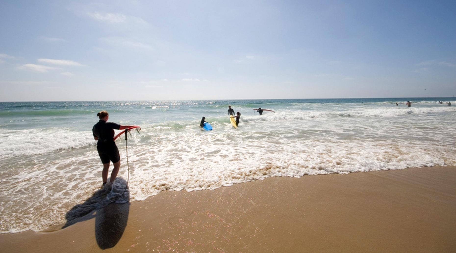 90-Minute Surf Lesson on Manhattan Beach