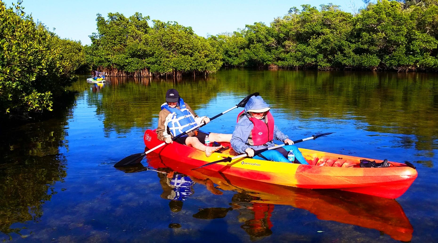 Half-Day Tandem Kayak Rental in Crystal River