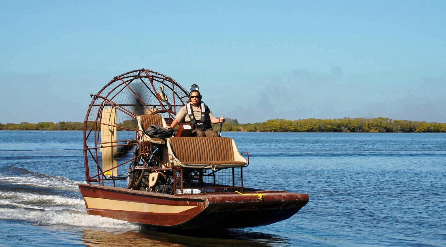 30-Minute Airboat Adventure on Lake Jesup