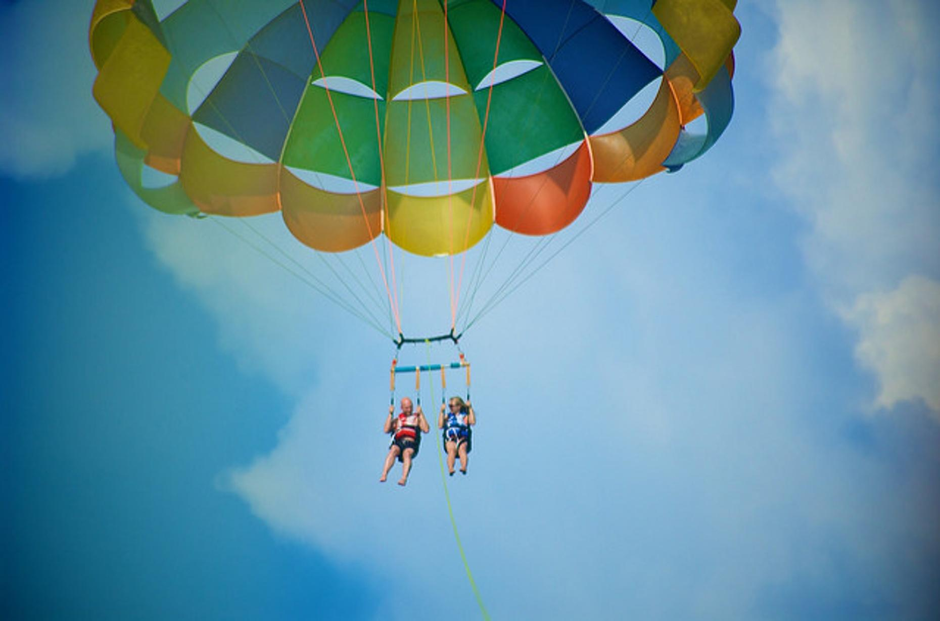 Table Rock State Parasailing Adventure
