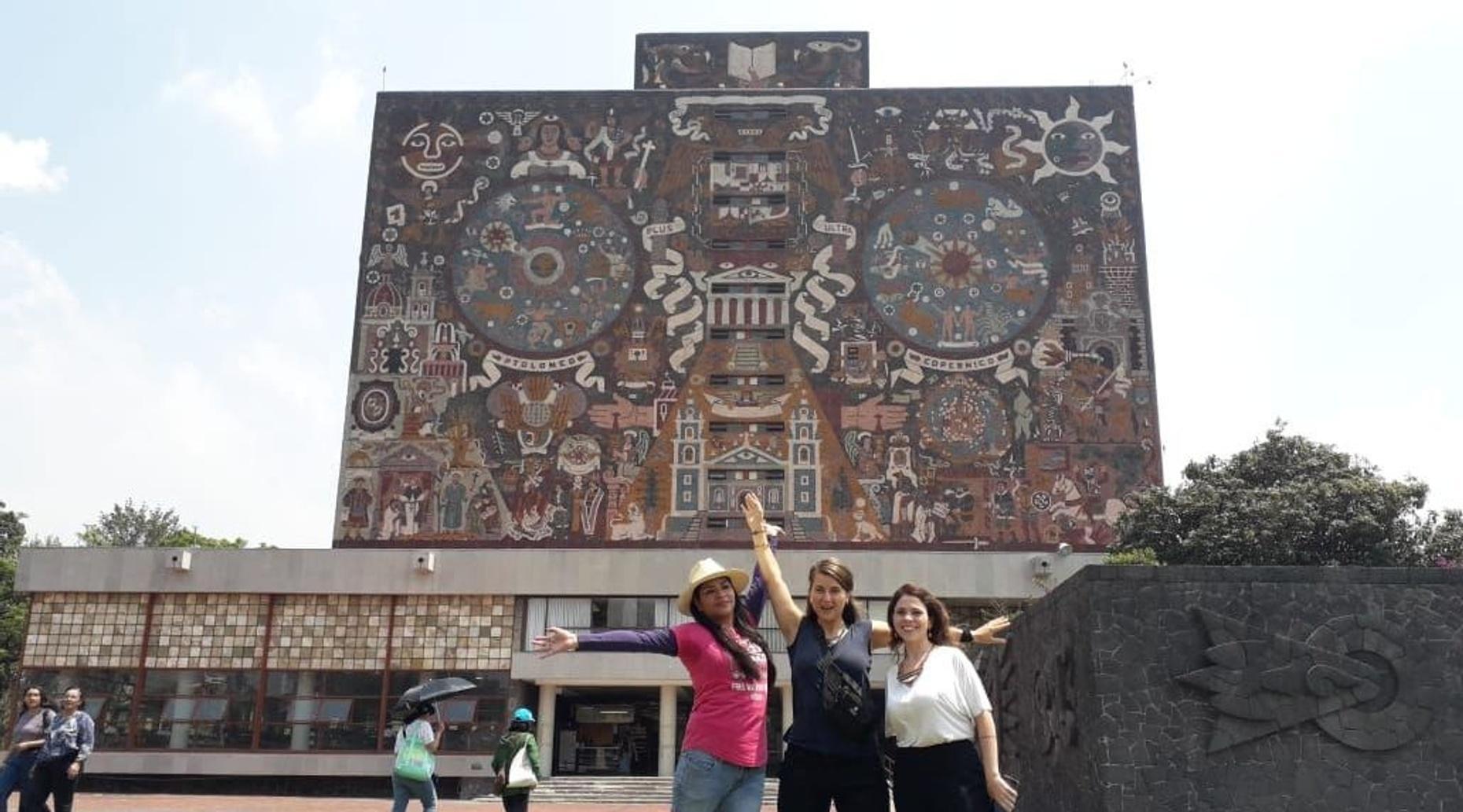 Ciudad Universitaria CU Walking Tour