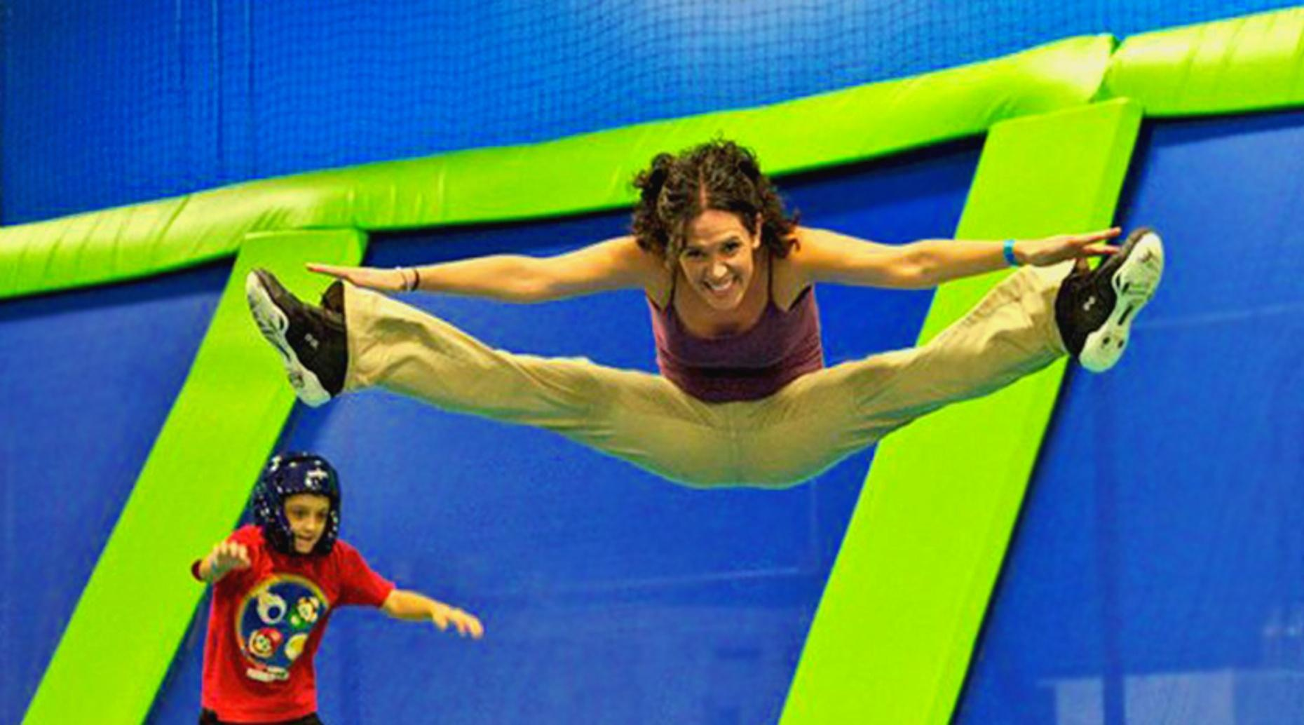 One-Day Trampoline Jumping Pass in Orlando