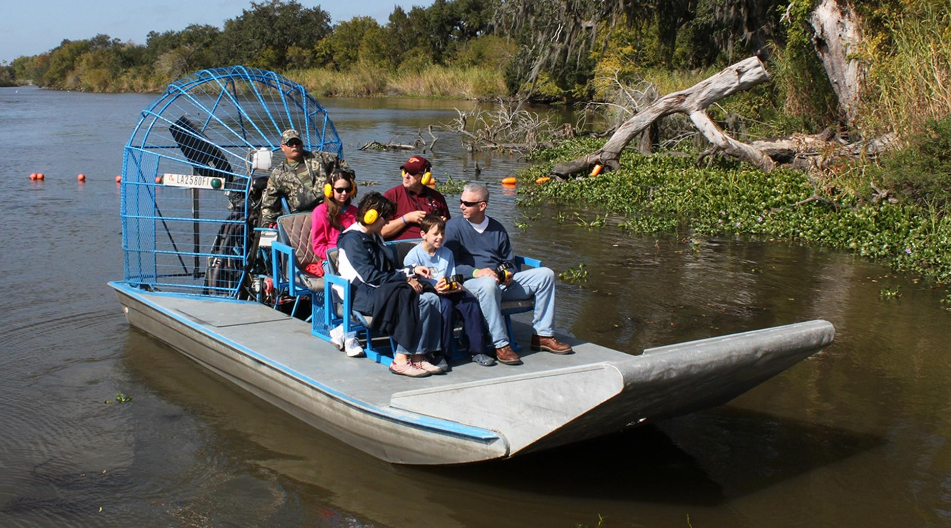 New Orleans Airboat Grand Tour