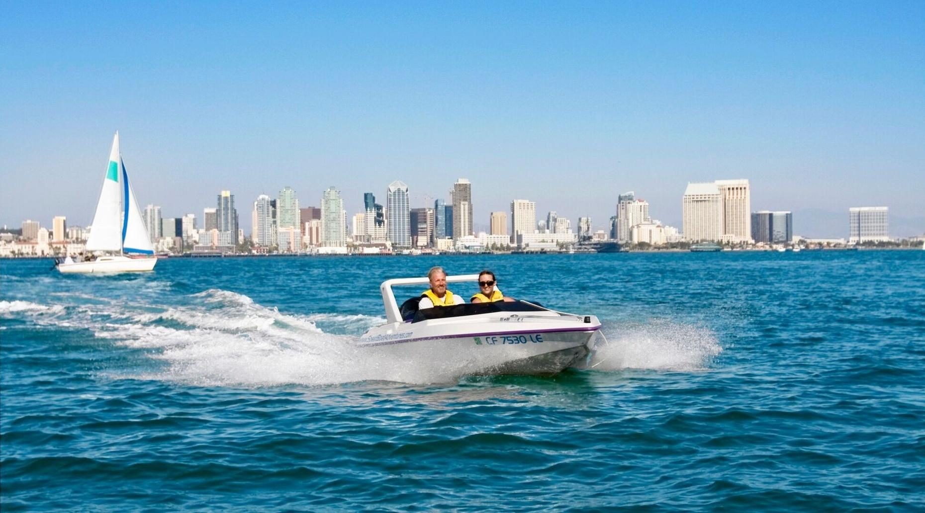 San Diego Speed Boat Adventure Tour