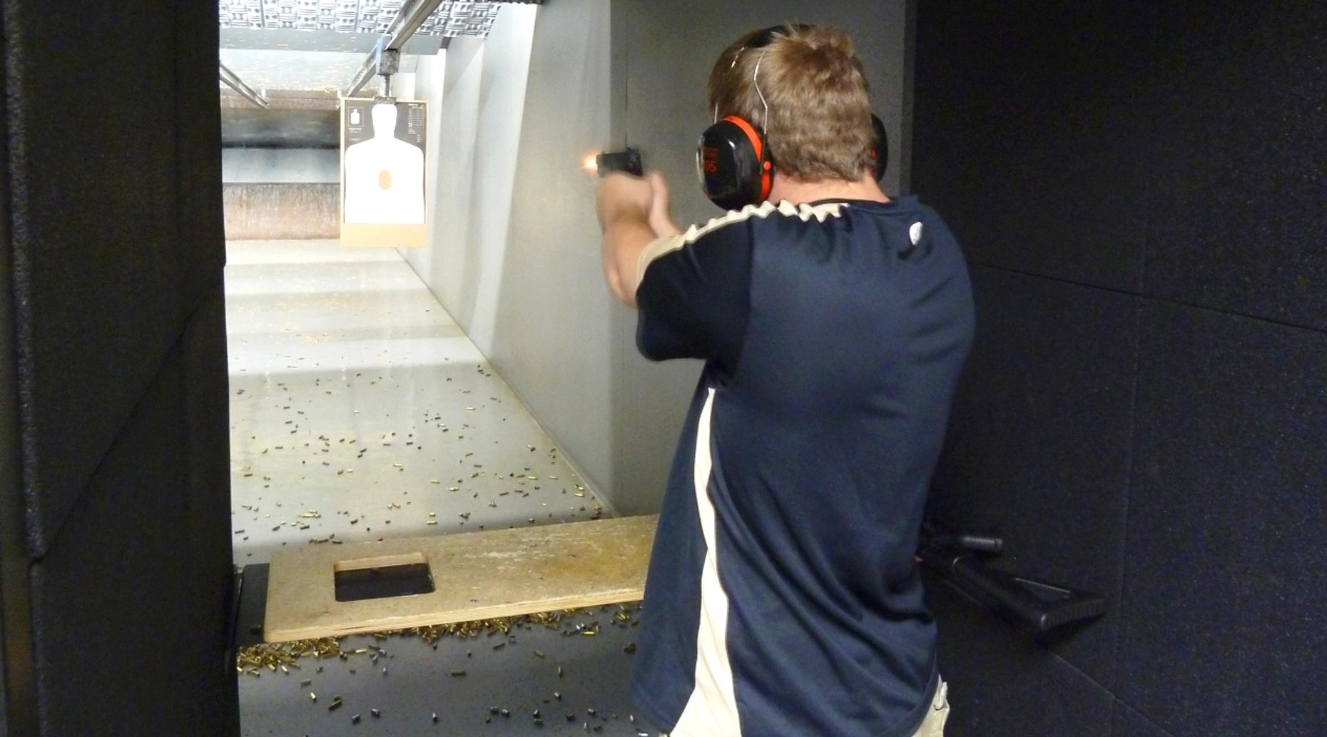 Shooting Range Package in Las Vegas