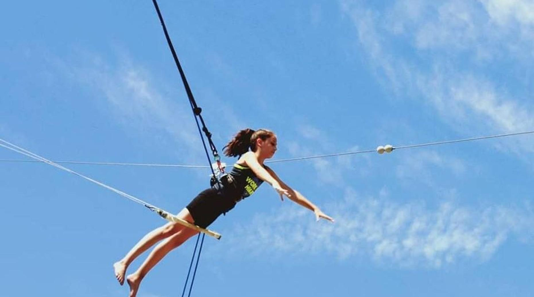 Weekend Flying Trapeze Class in Orange County