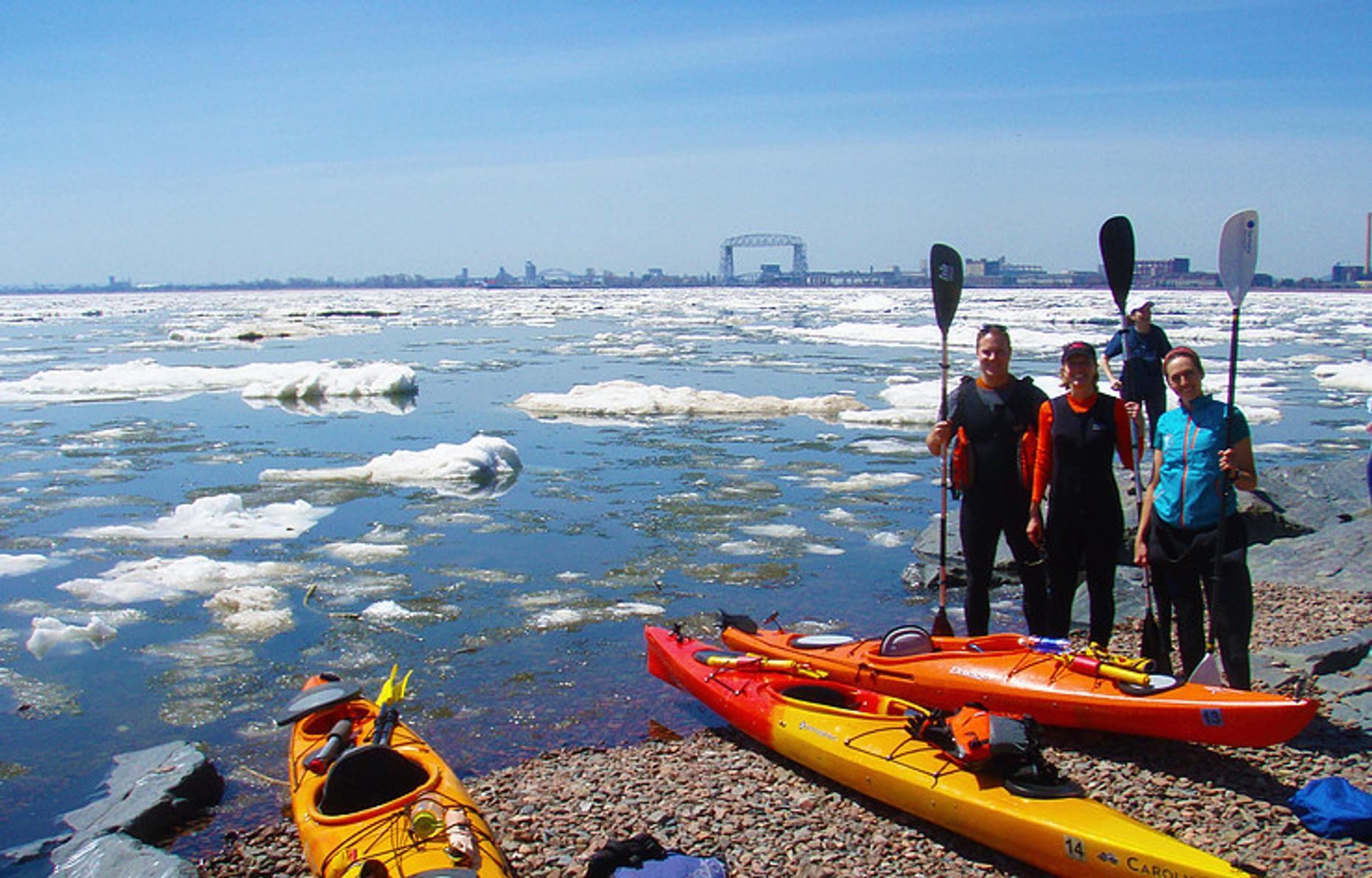 Private Two Hour Kayak Tour in Duluth