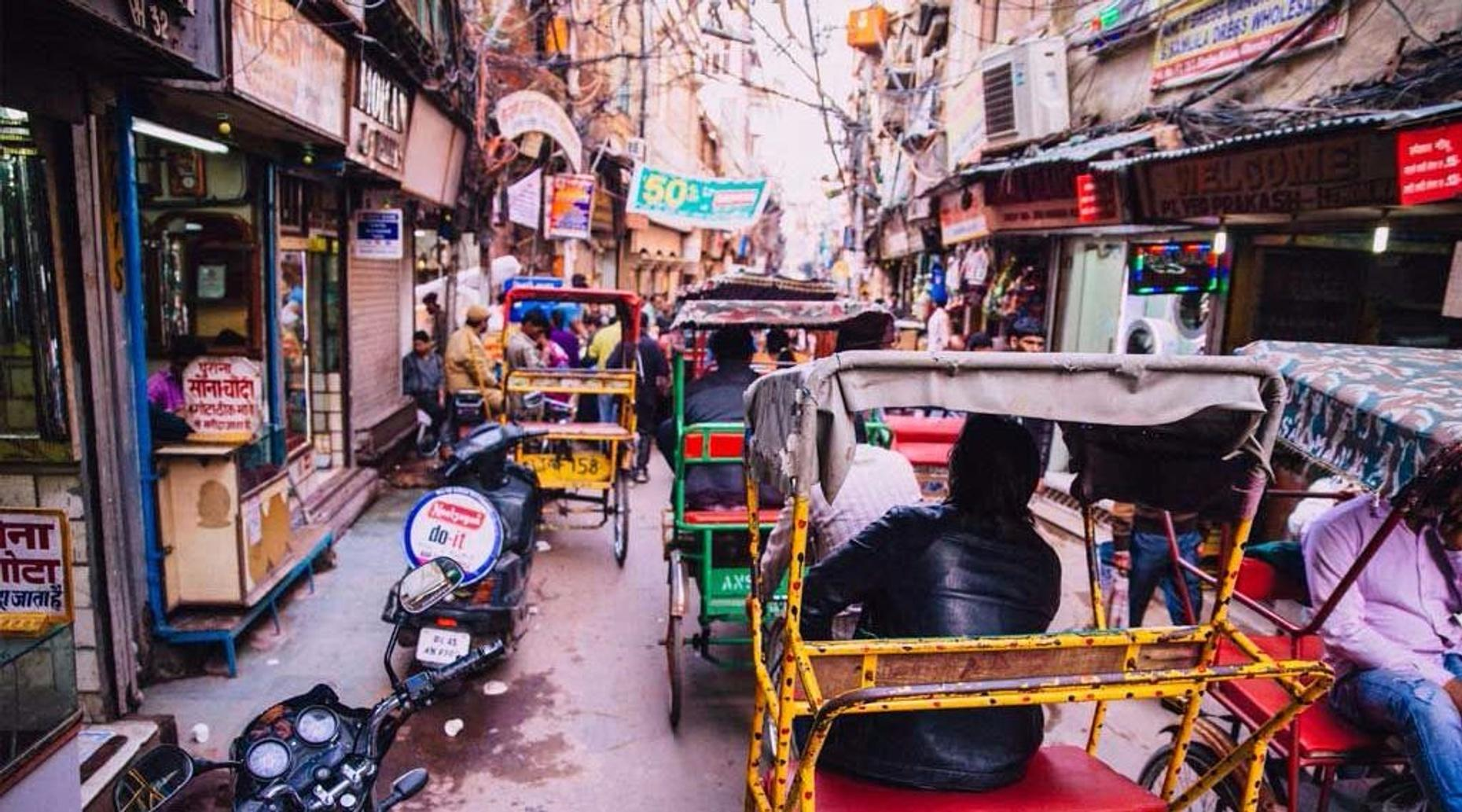 Guided Walk through Old Delhi