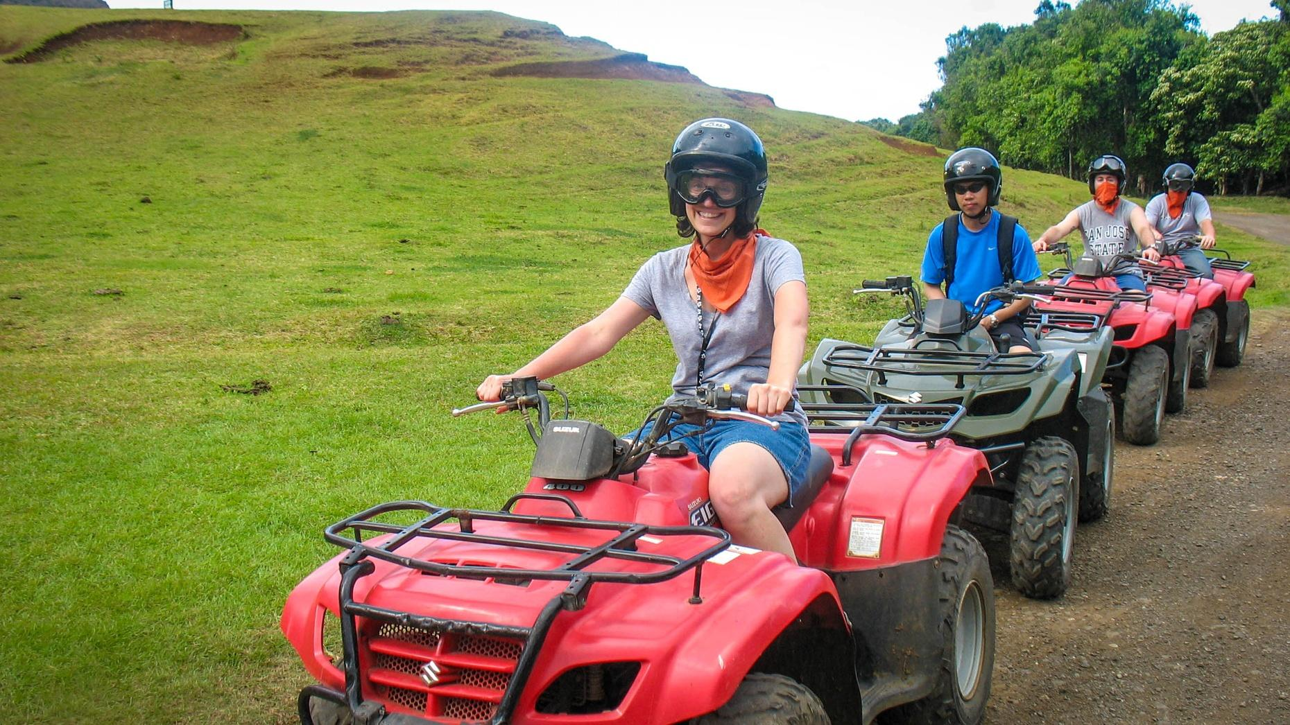 Turks and Caicos ATV Tour With Cruise Ship Access