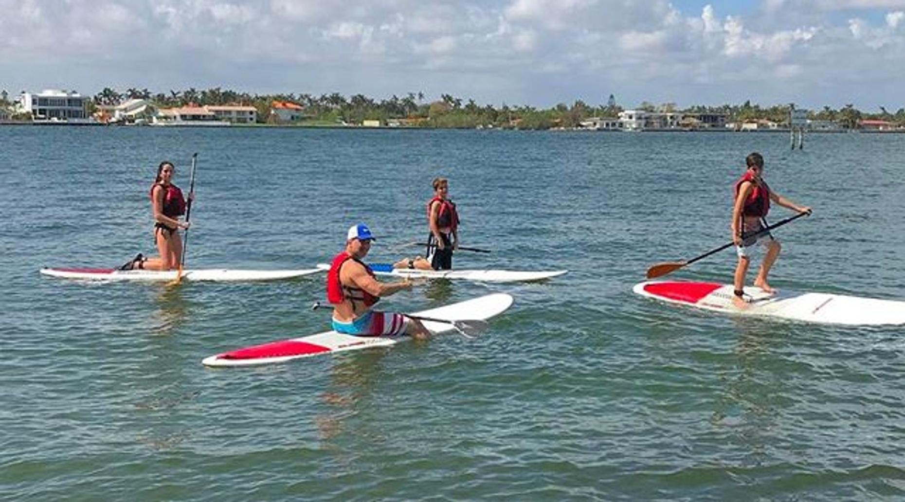 Stand-Up Paddleboarding Lesson & Rental in Miami