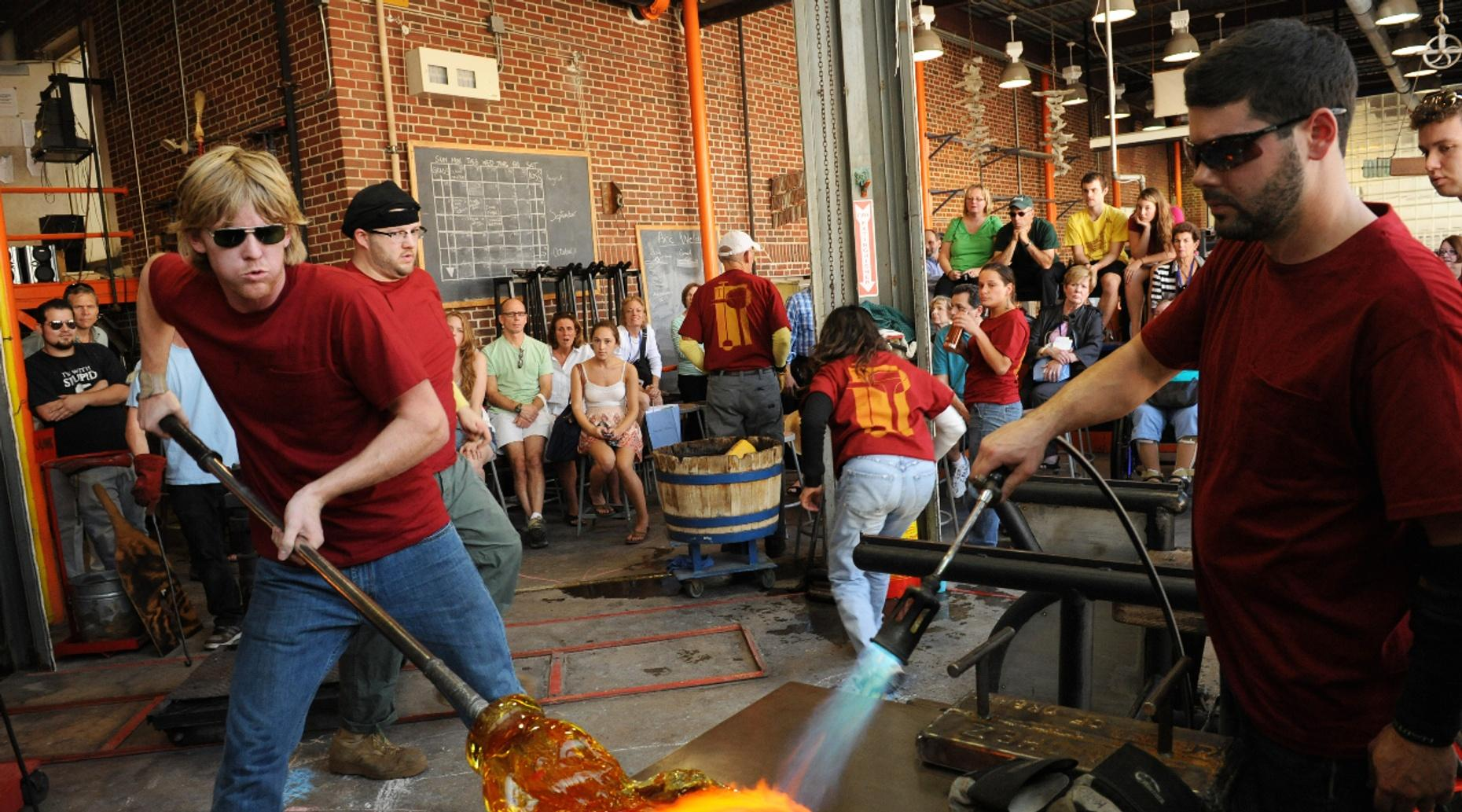 Three-Hour Glassblowing Class in Massachusetts