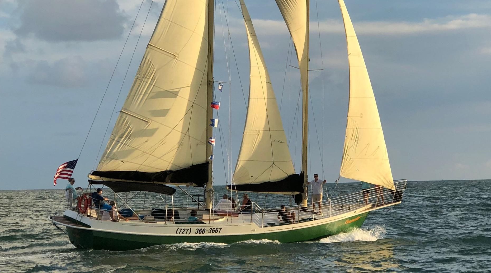 2-Hour Daytime Clearwater Beach Sailing Cruise