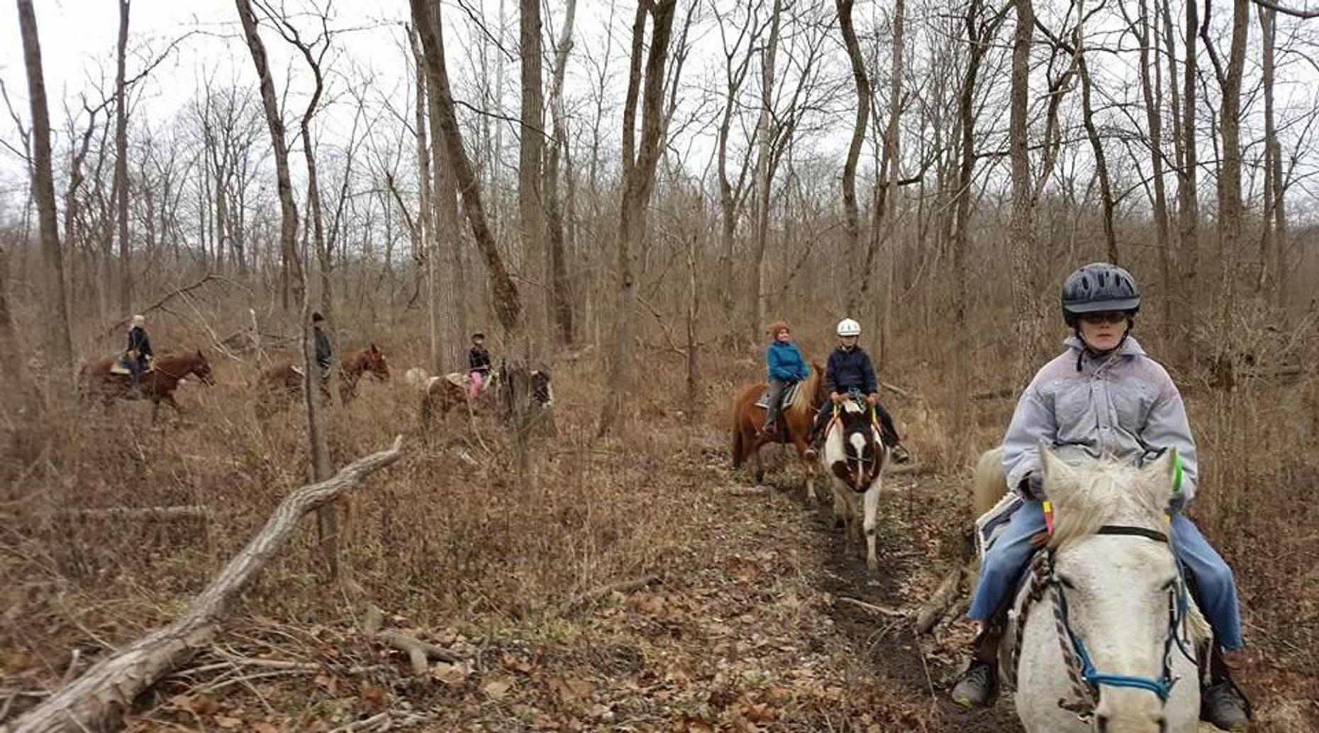 60 Minute Trail Ride in Hendricks County