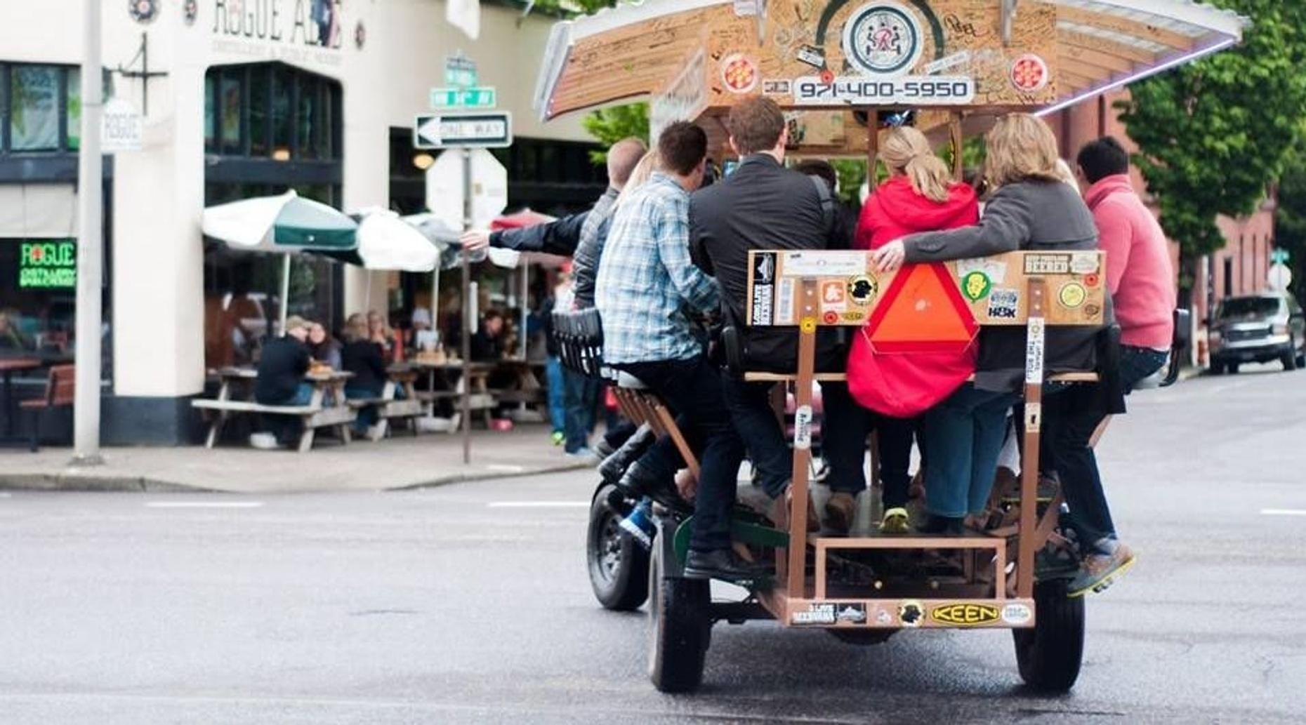 Pedal-Powered Beer Tour in Southeast Portland
