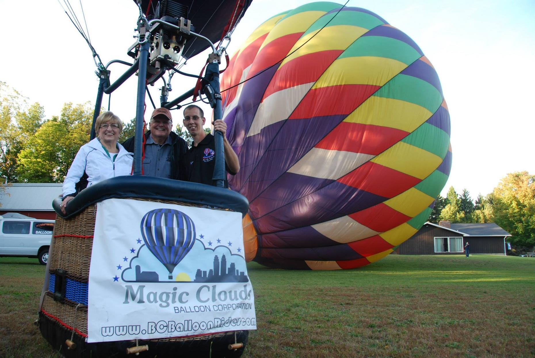 Hot Air Balloon Ride in Battle Creek