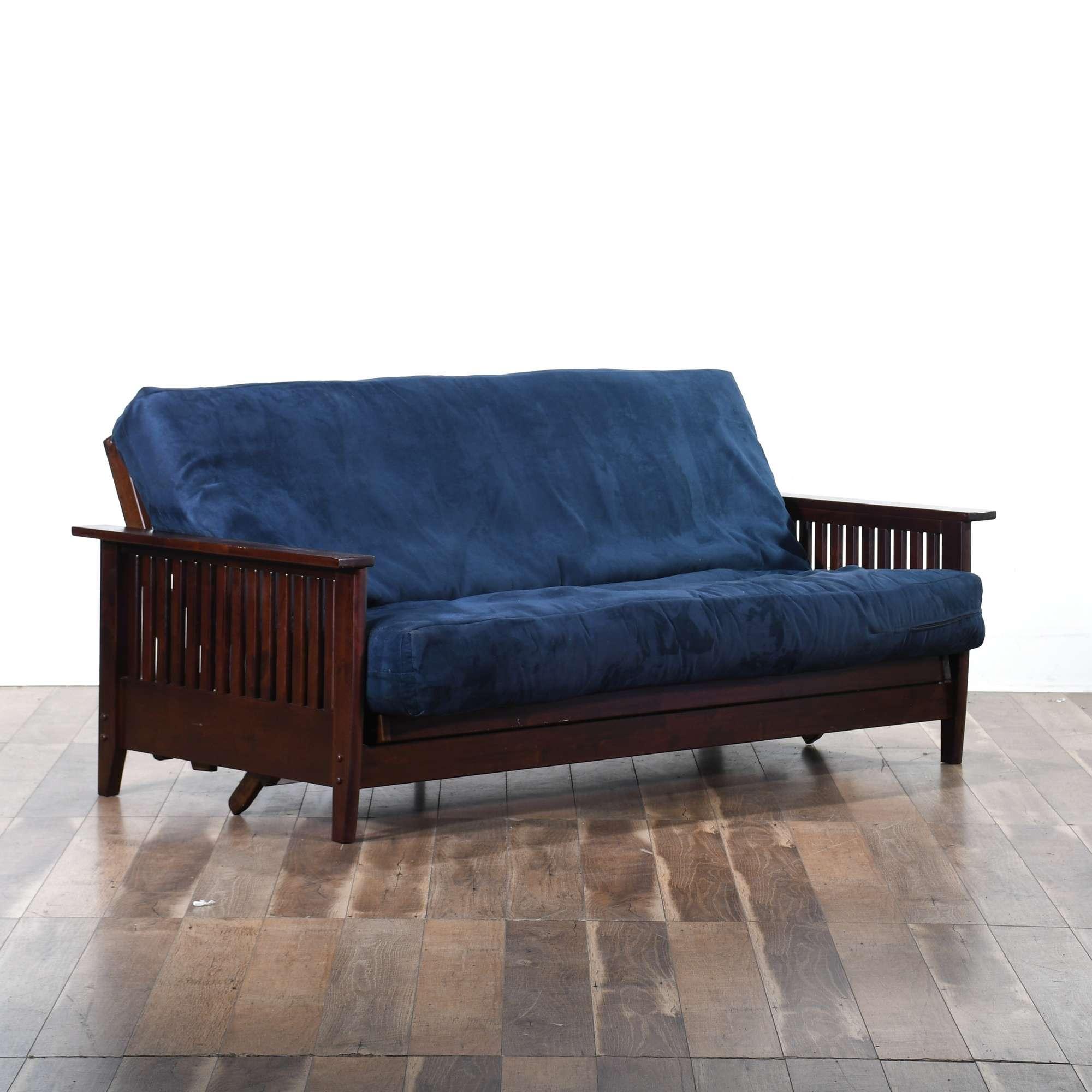 California Craftsman Style Sleeper Sofa W Futon Full Loveseat Online Auctions Los Angeles