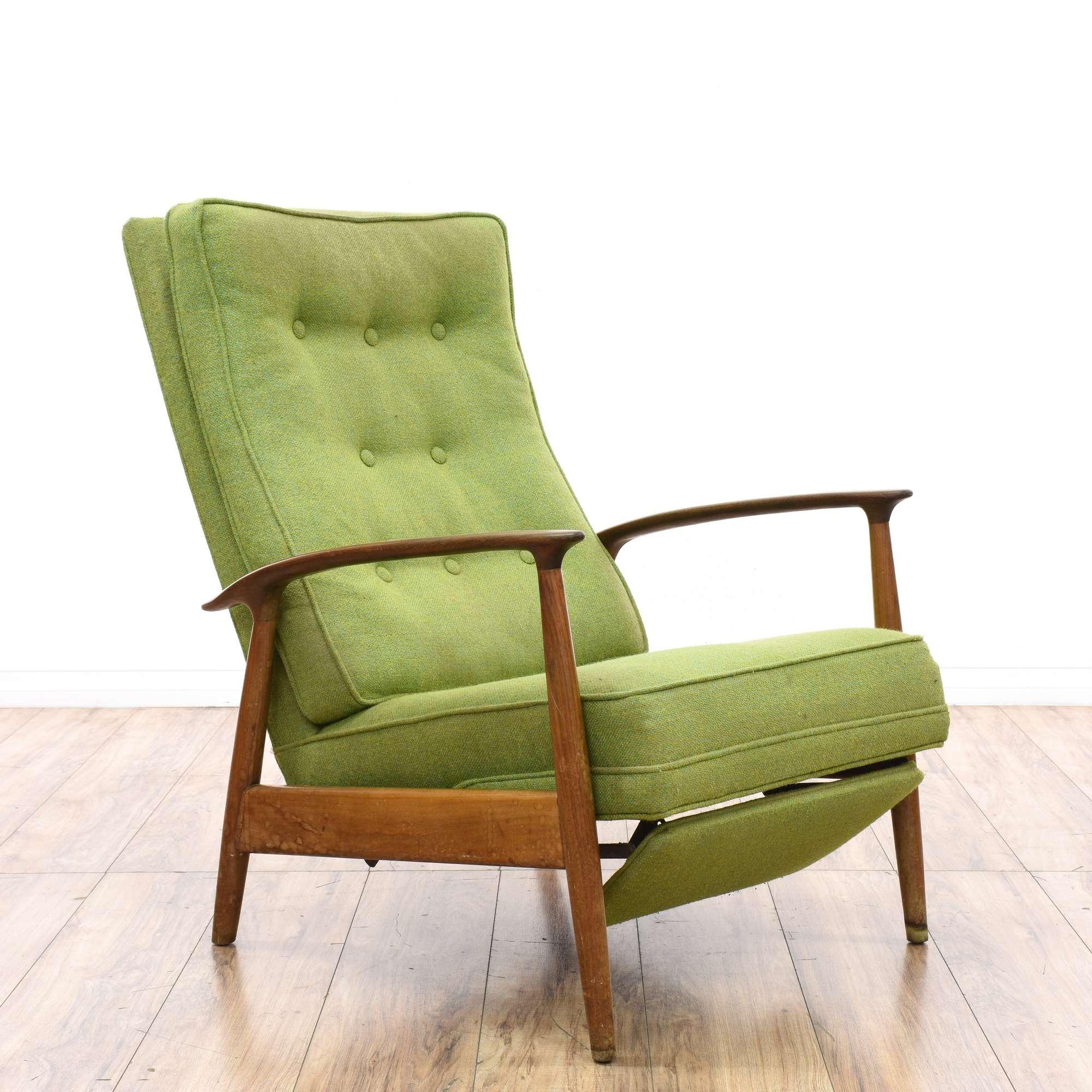 Milo Baughman Style Mid Century Modern Recliner Loveseat Online Auctions San Diego