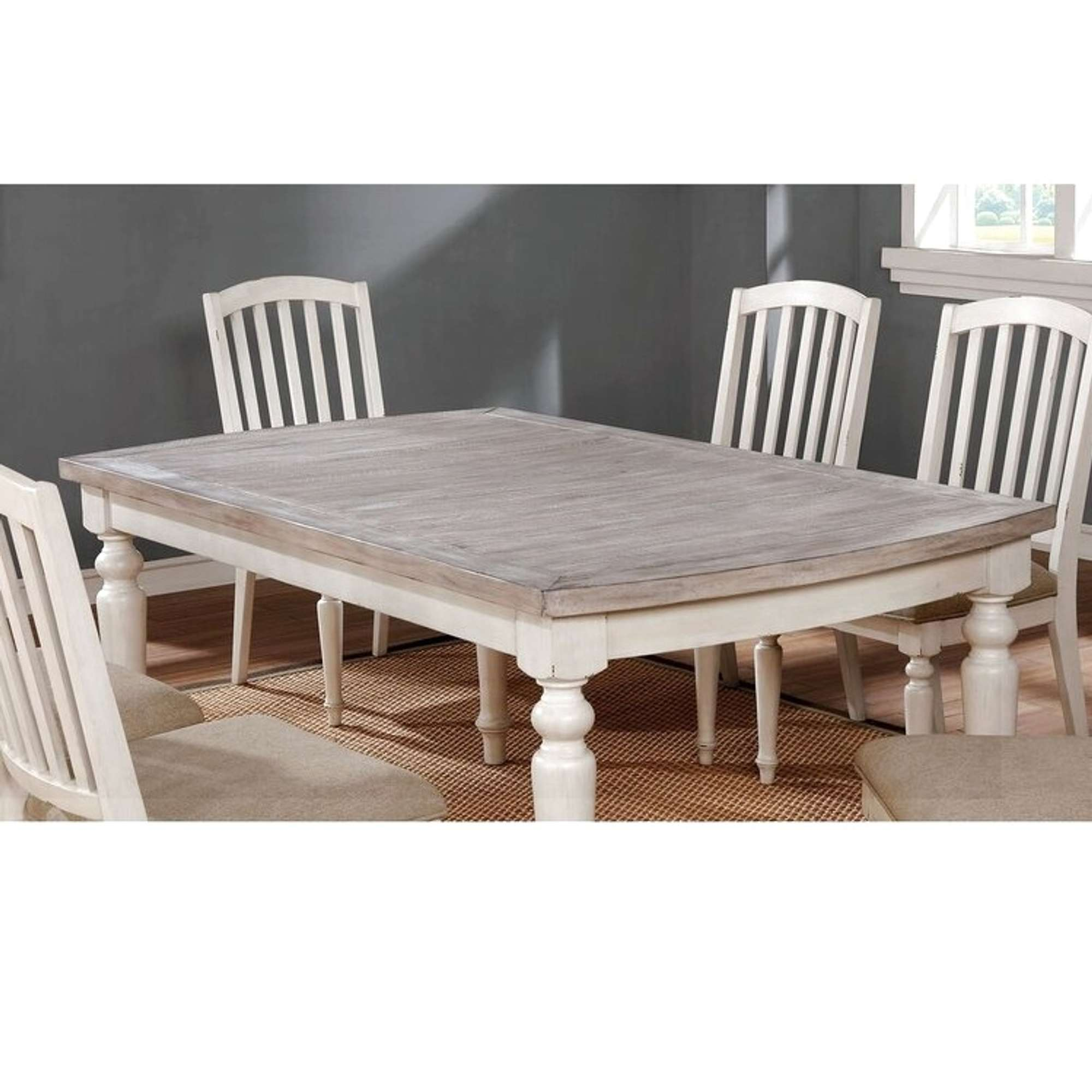 One Allium Way Mordecai Dining Table Loveseat Online Auctions Los Angeles