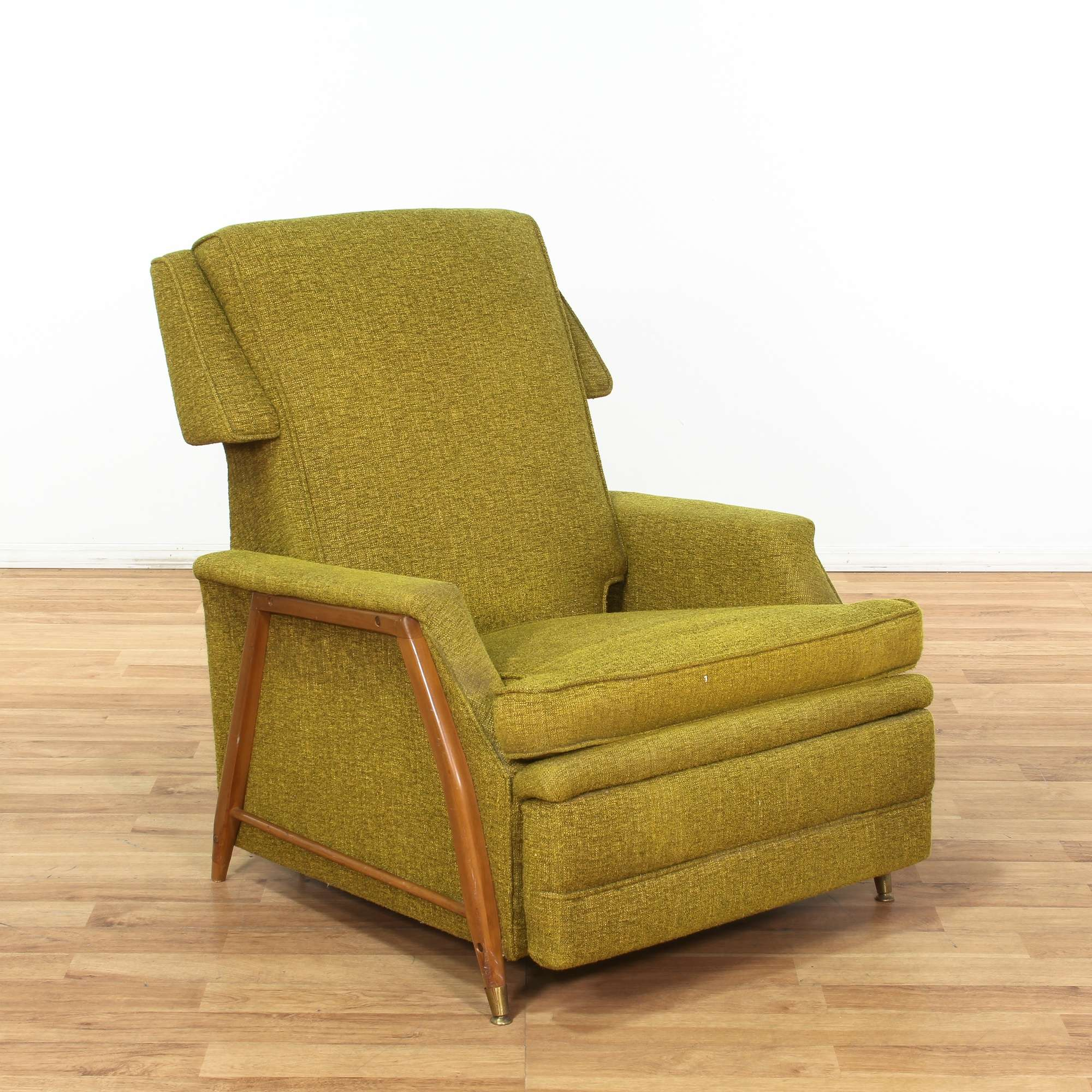 Picture of: Green Mid Century Modern Recliner Loveseat Online Auctions Los Angeles