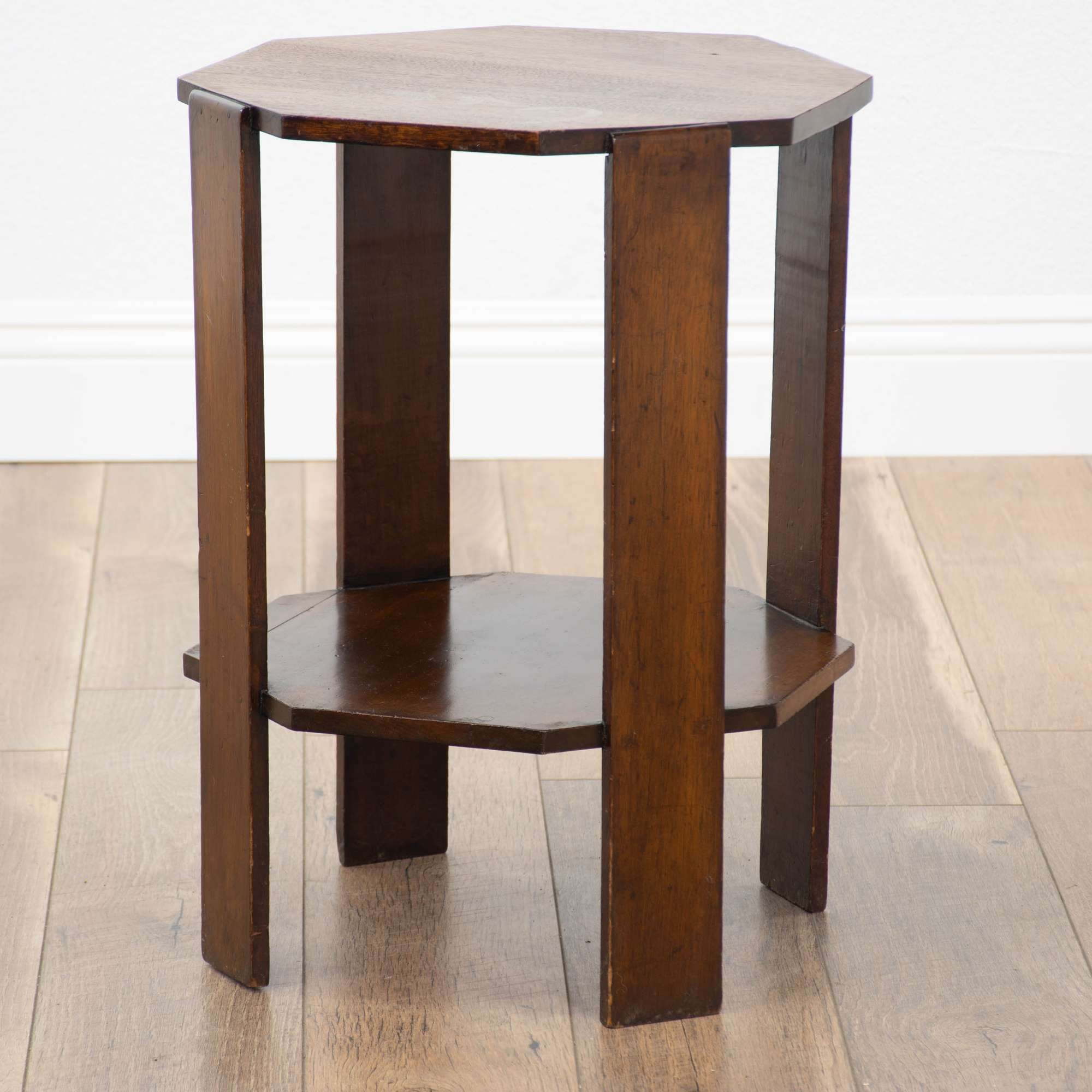 Fabulous Octagonal Mission Arts And Crafts Style End Table Loveseat Uwap Interior Chair Design Uwaporg