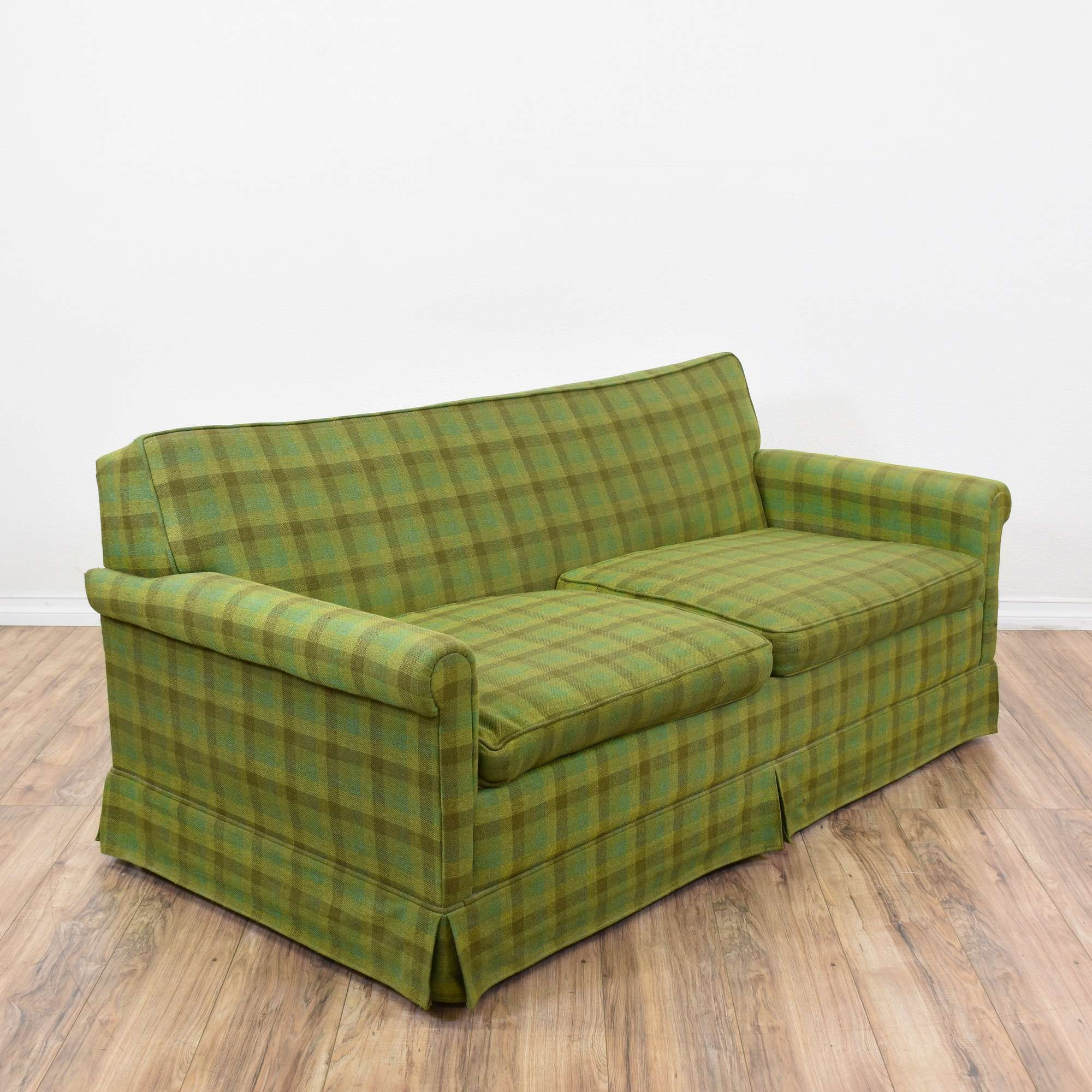 Green Plaid Sofa Awesome Plaid Couch 52 With Additional