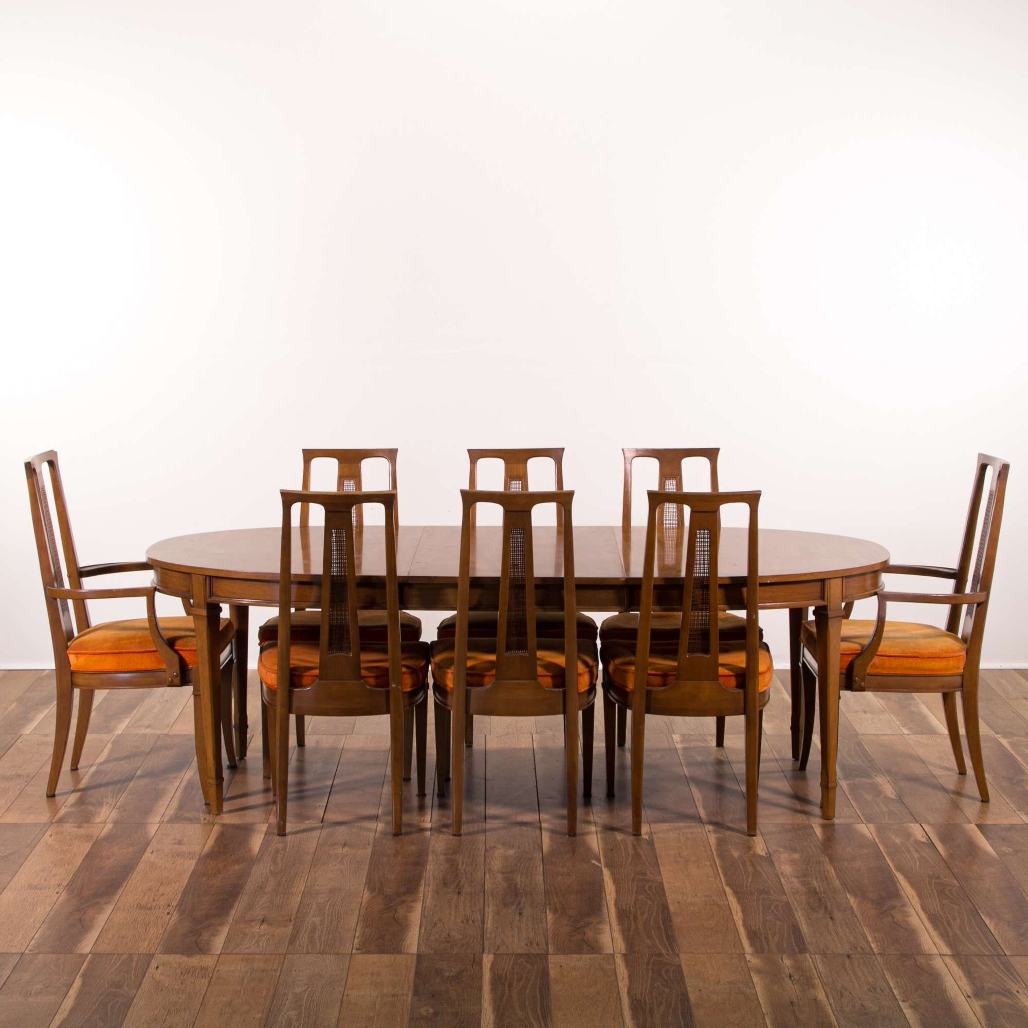 Set Of 8 Mid Century Modern Dining Chairs (chairs only ...