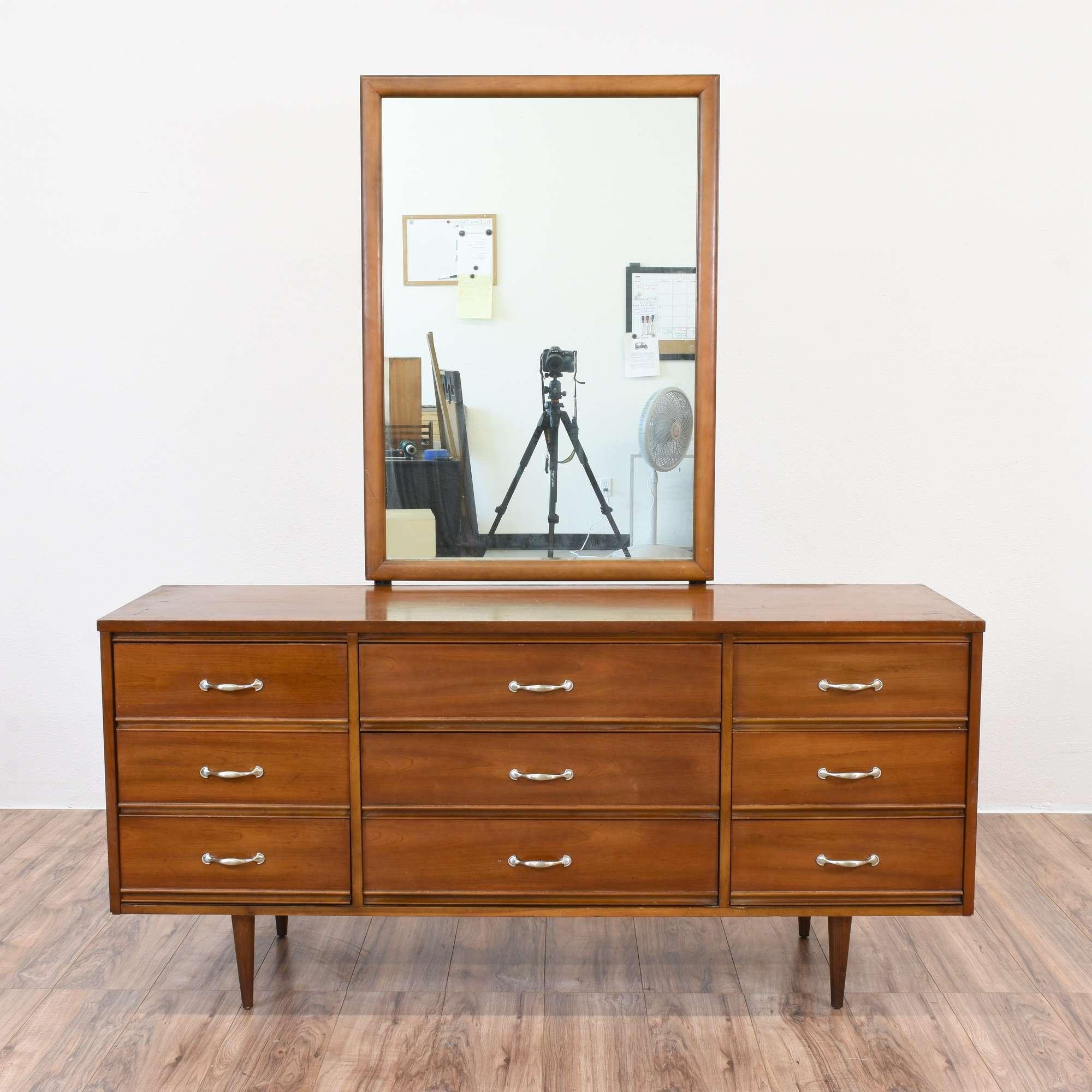 Harmony house mid century modern dresser