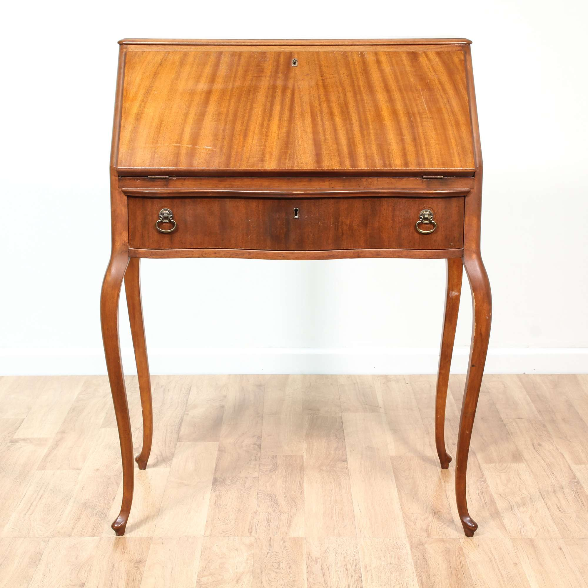 centennial shop desk furniture sold secretary statton cherry vintage bookcase signed