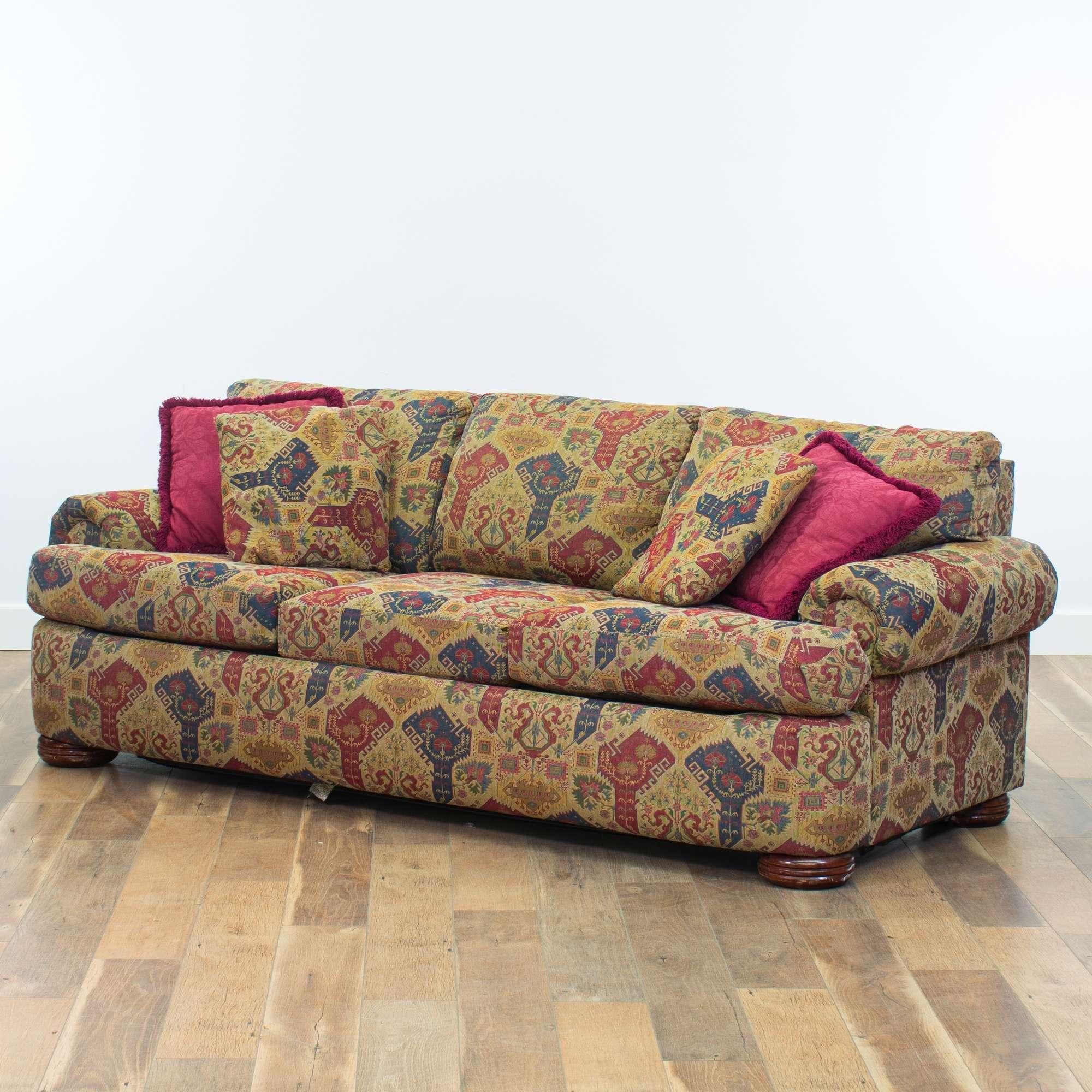 Lane Mid Century Modern Queen Size Sleeper Sofa | Loveseat ...