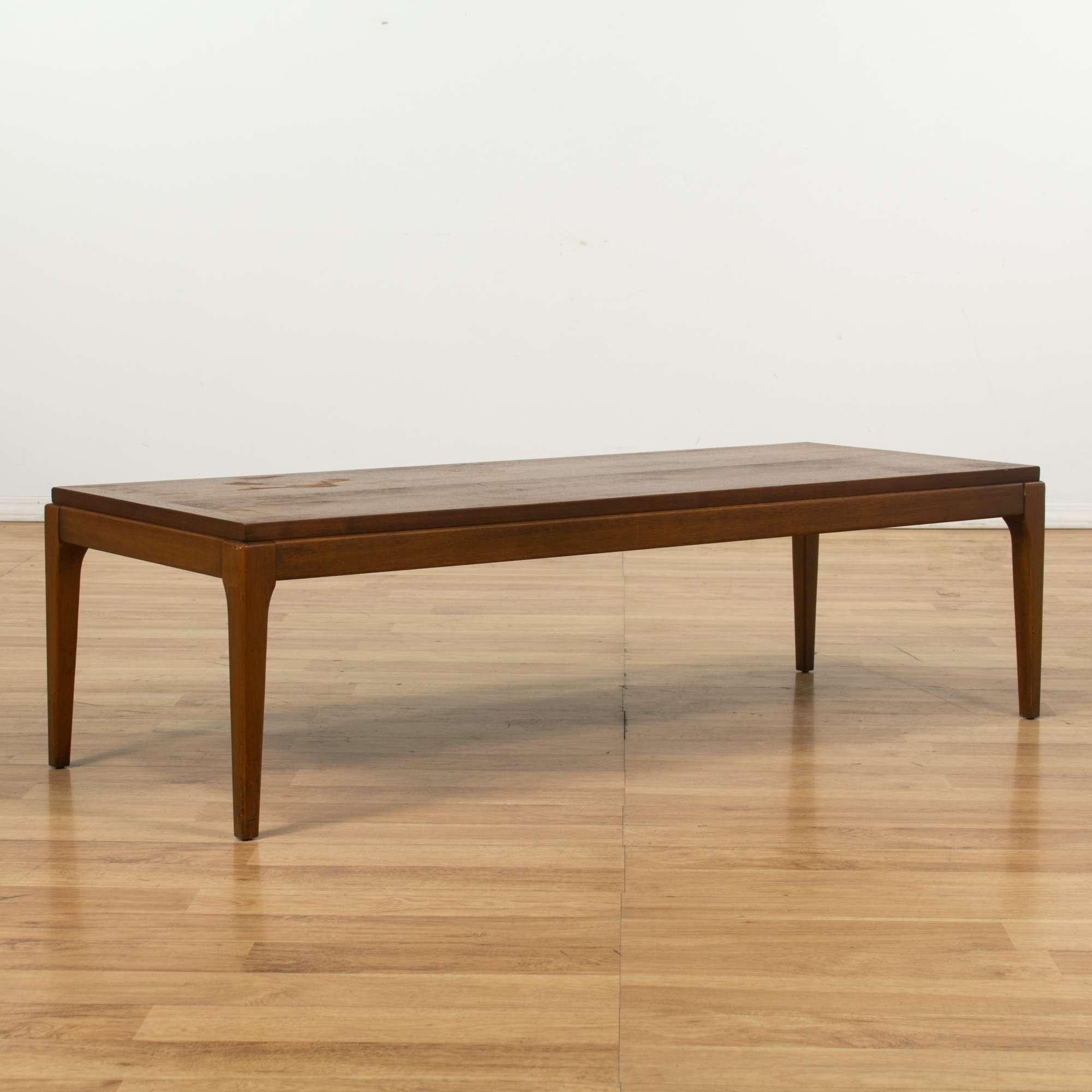 Lane Mid Century Modern Coffee Table Loveseat Vintage Furniture