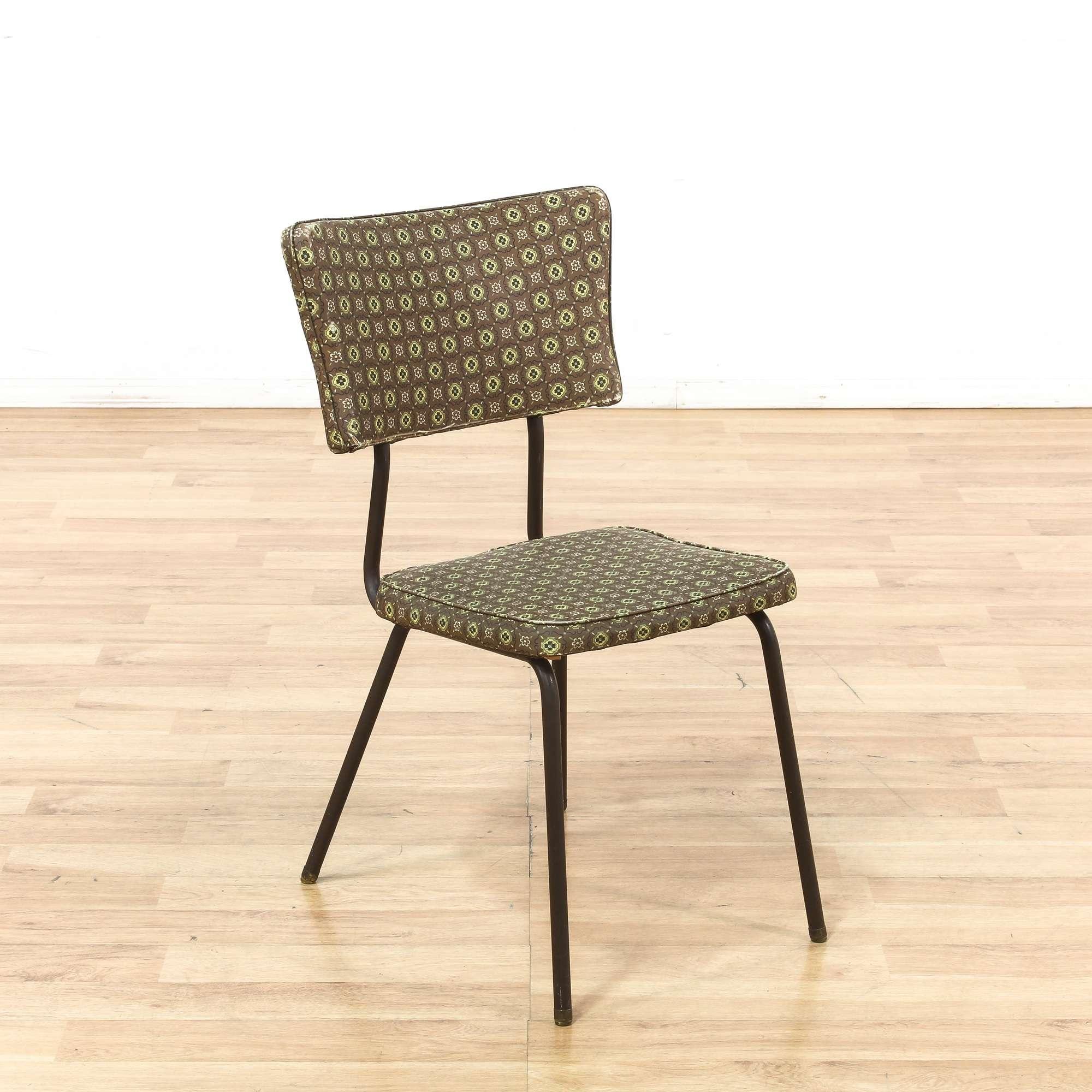 virtue bros mid century modern dinette chair loveseat vintage