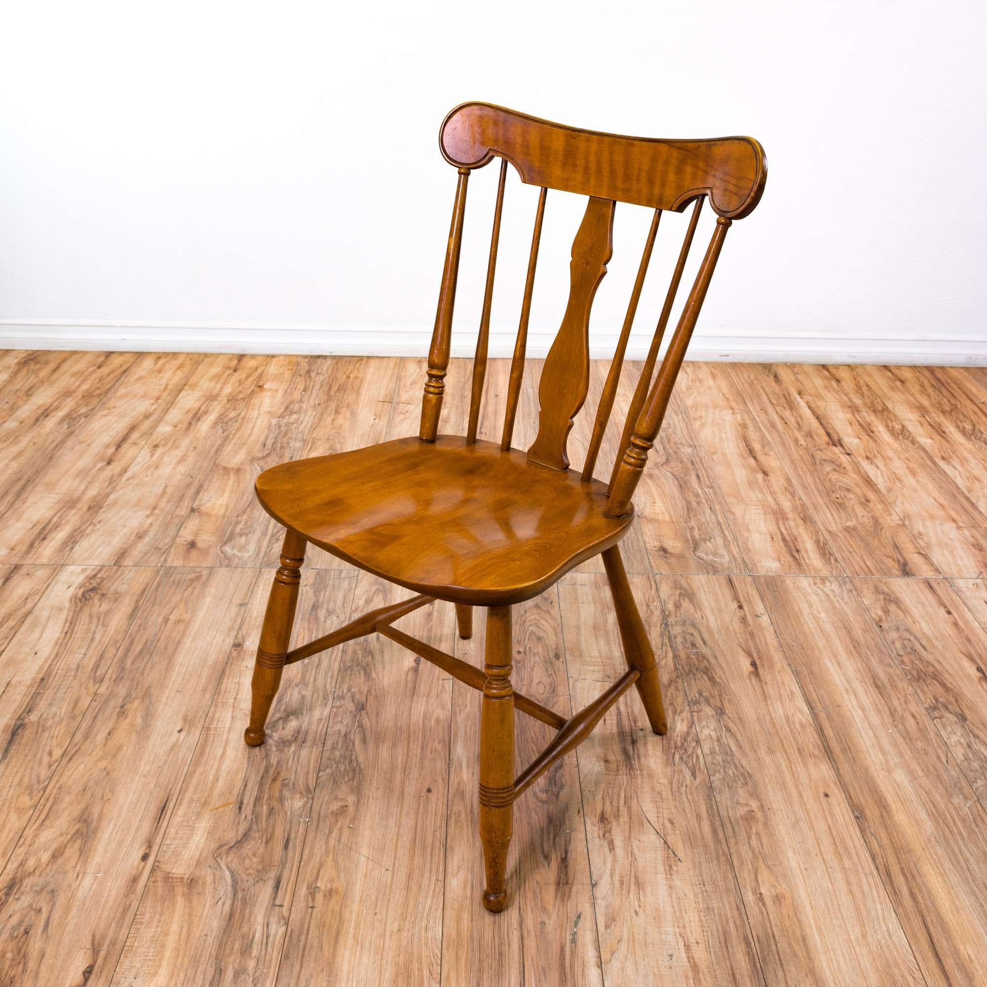 Solid Maple Windsor Dining Chairs