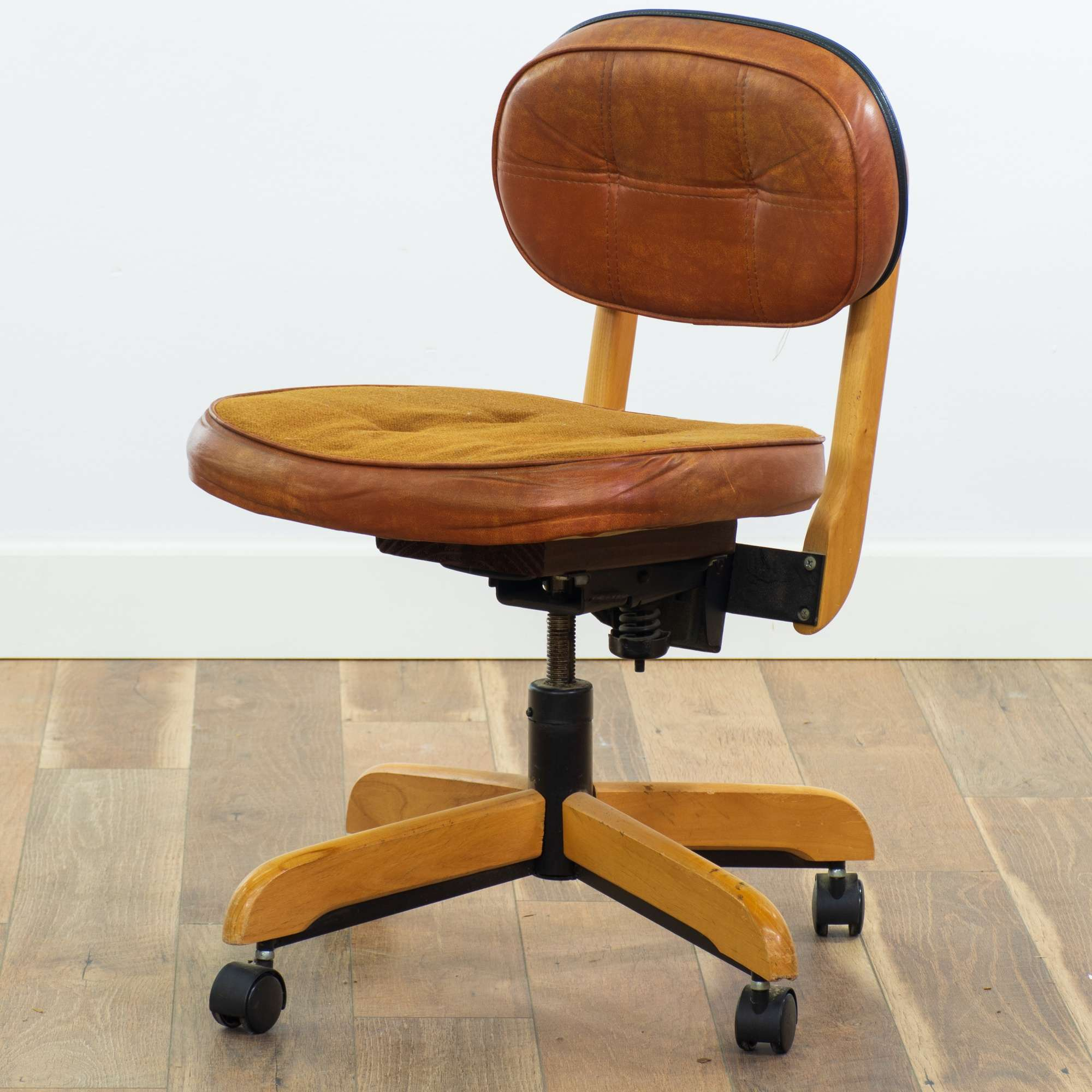 Vintage Ed Pauly Mid Century Modern Office Chair