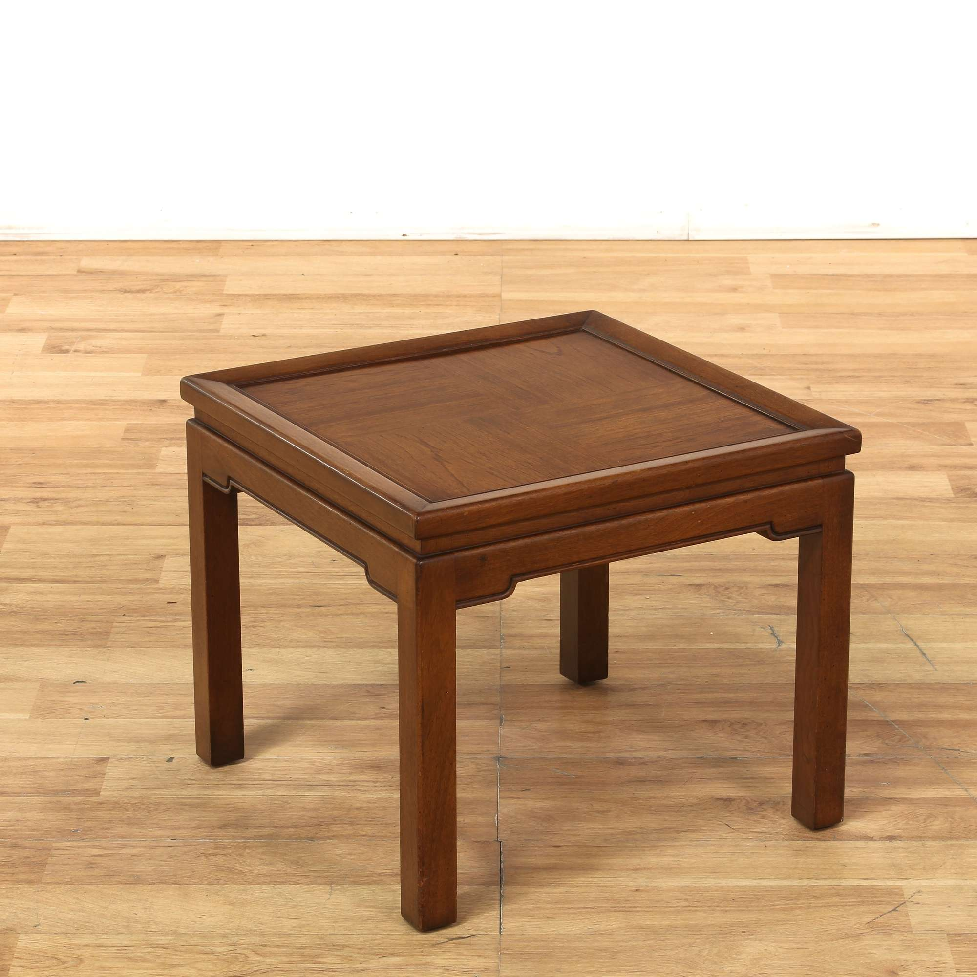Simple Asian Square End Table 2 | Loveseat Vintage ...
