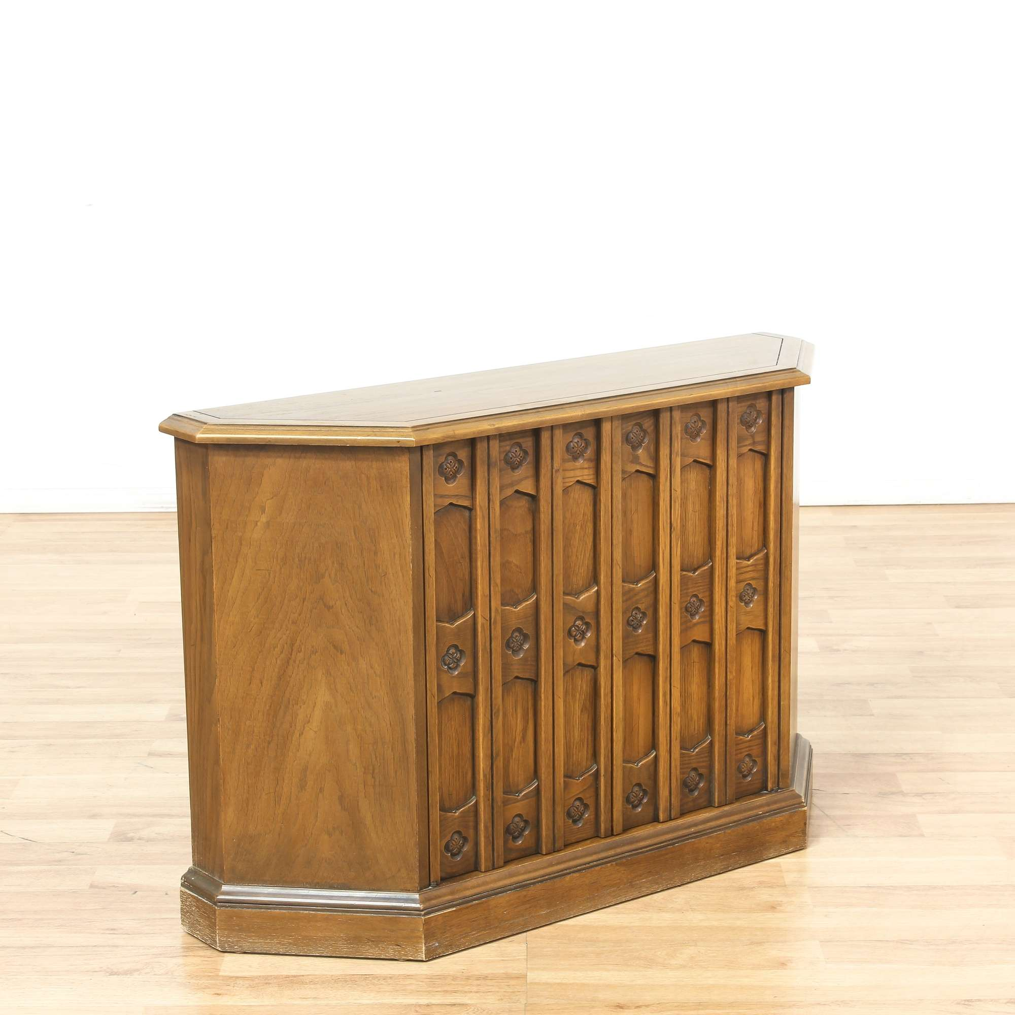 Drexel Mid Century Modern Hall Console Cabinet Loveseat Vintage Furniture Los Angeles