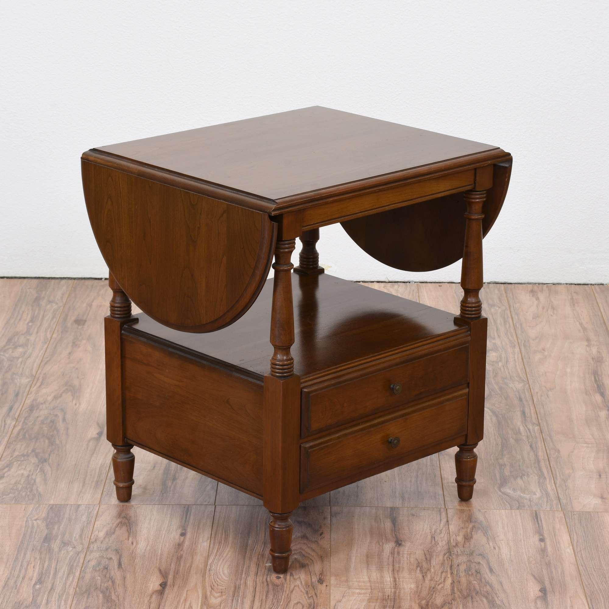 Pennsylvania House Drop Leaf End Table 2 Loveseat Vintage Furniture San Diego