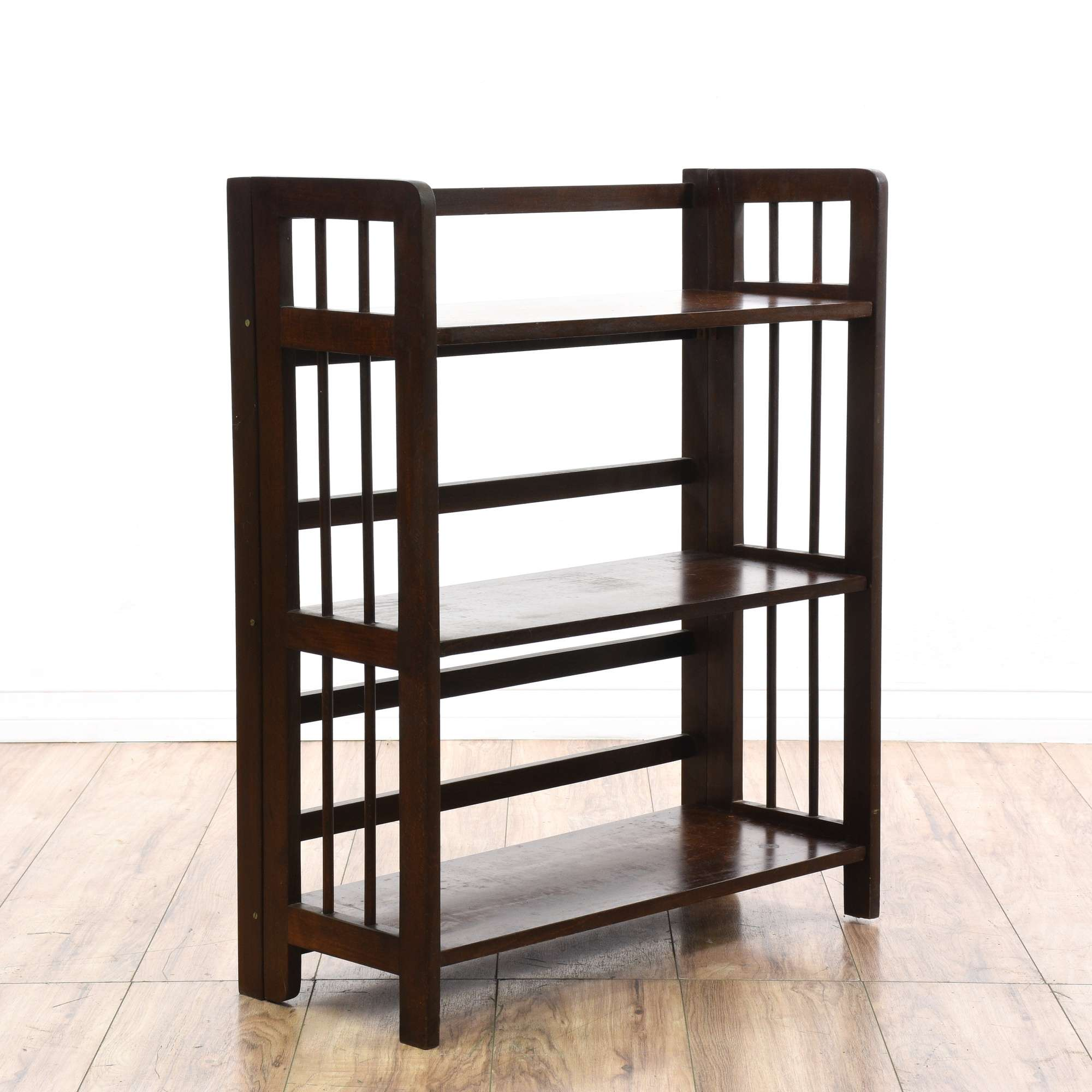 shelf dp with espresso tower com piece foldable bookshelf amazon granville winsome storage larger view folding