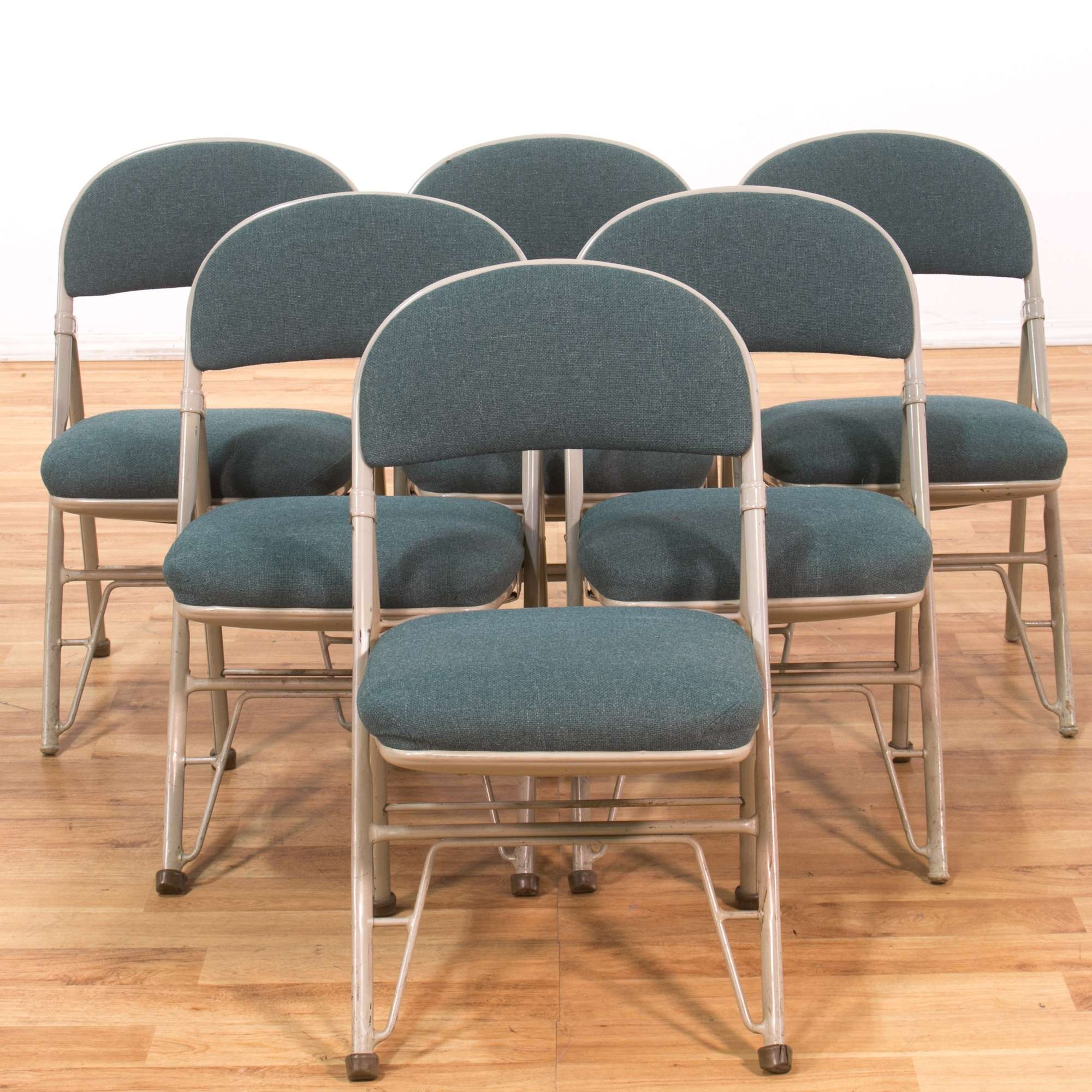 Brilliant Set Of 6 Mid Century Modern Industrial Folding Chairs 3 Caraccident5 Cool Chair Designs And Ideas Caraccident5Info