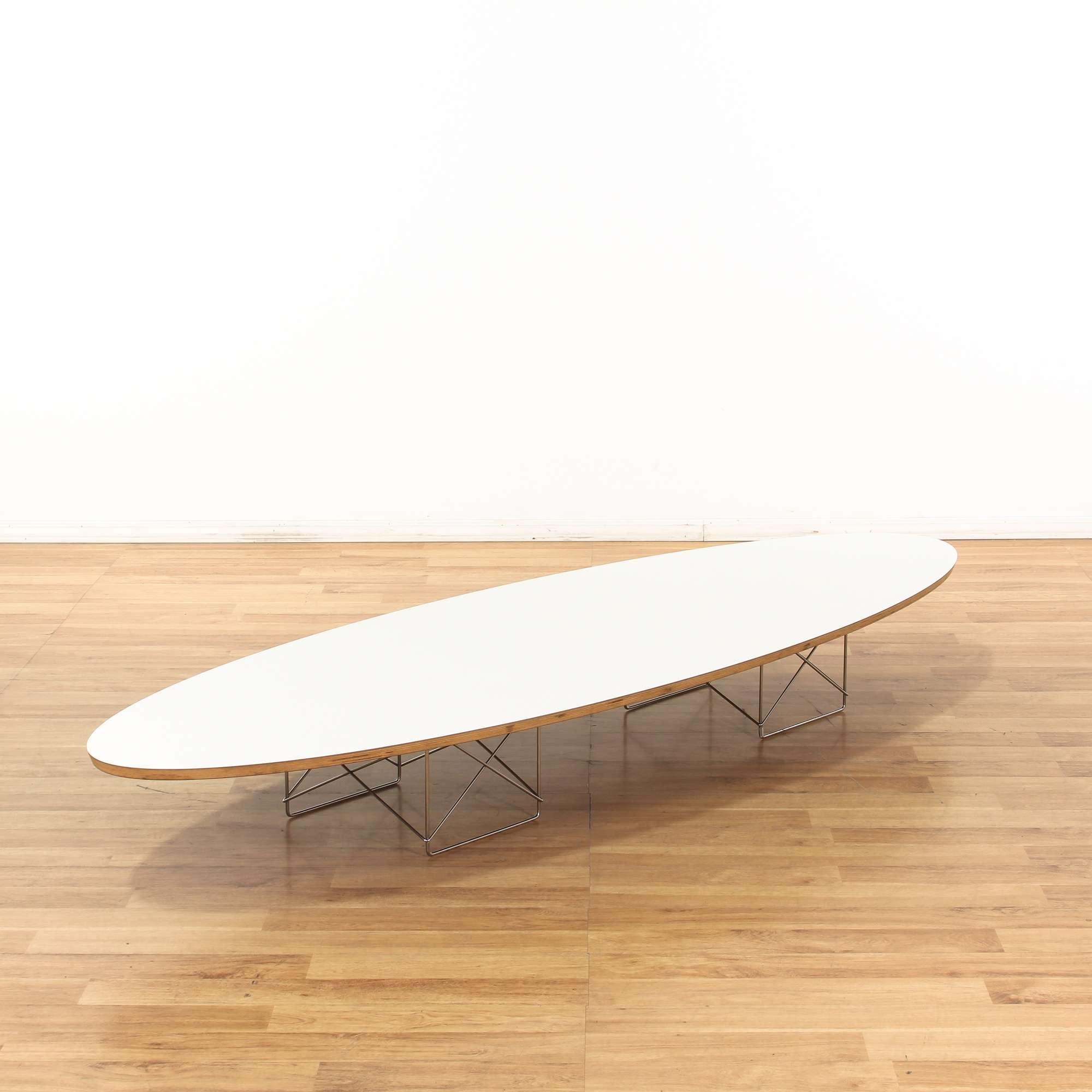 Eames Surfboard Coffee Table.Eames Herman Miller Surfboard Coffee Table Loveseat Vintage