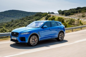 We test the new supercharged V8 Jaguar F-Pace SVR