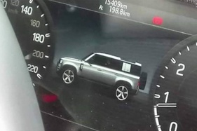 New Land Rover tech betrays Defender design early