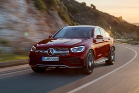 More tech for updated Mercedes-Benz GLC Coupe