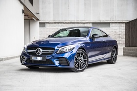 While tamer than a C63, the Merc-AMG C43 coupe is still a proper sports car