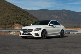 Does the new C300 Merc lead the premium pack? We find out.