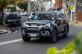 The Isuzu MU-X is simple, but effective and it could be the affordable SUV for you