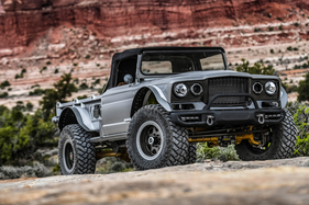 We take the powerful Jeep Five-Quarter Concept for a spin